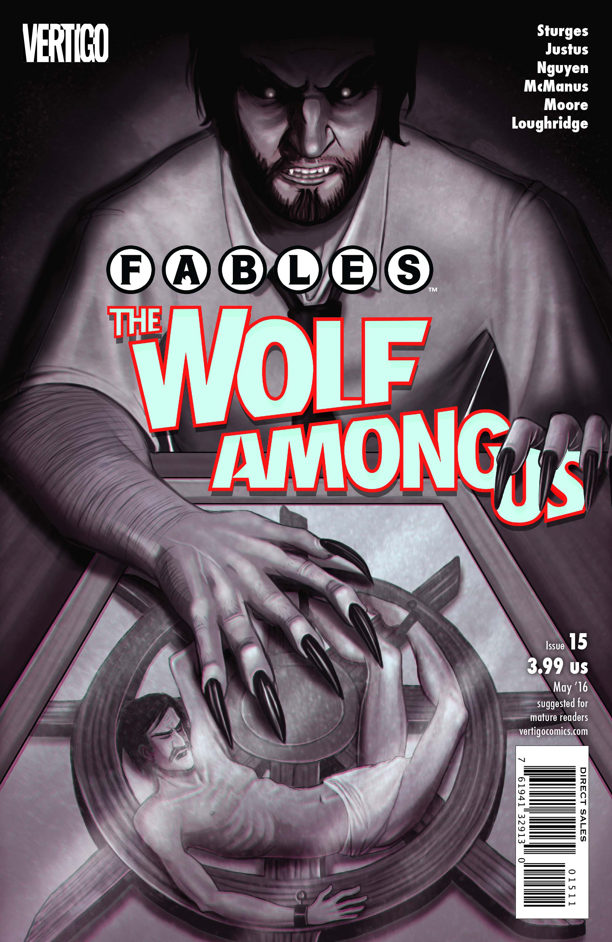 FABLES THE WOLF AMONG US #15