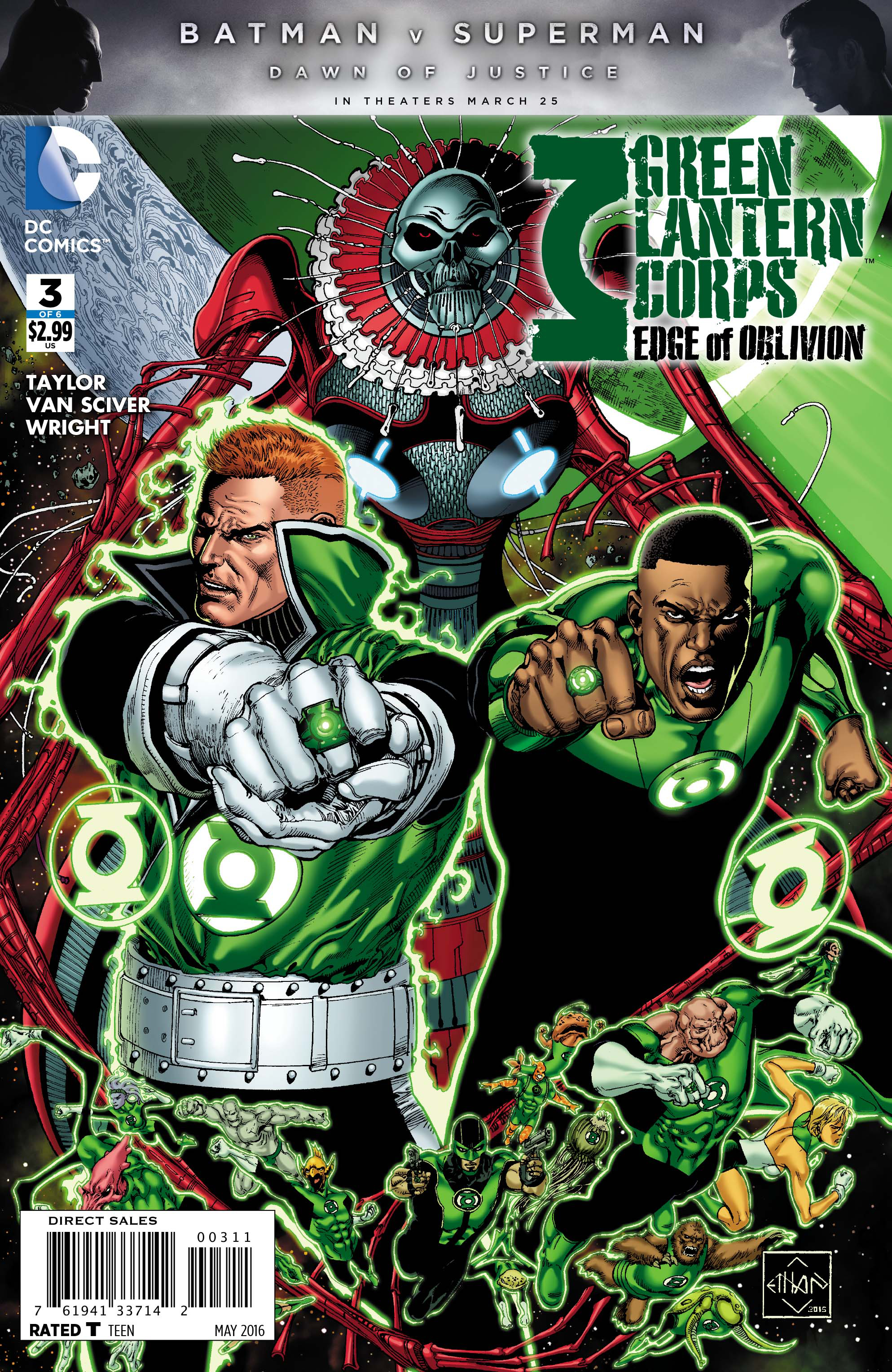 GREEN LANTERN CORPS EDGE OF OBLIVION #3