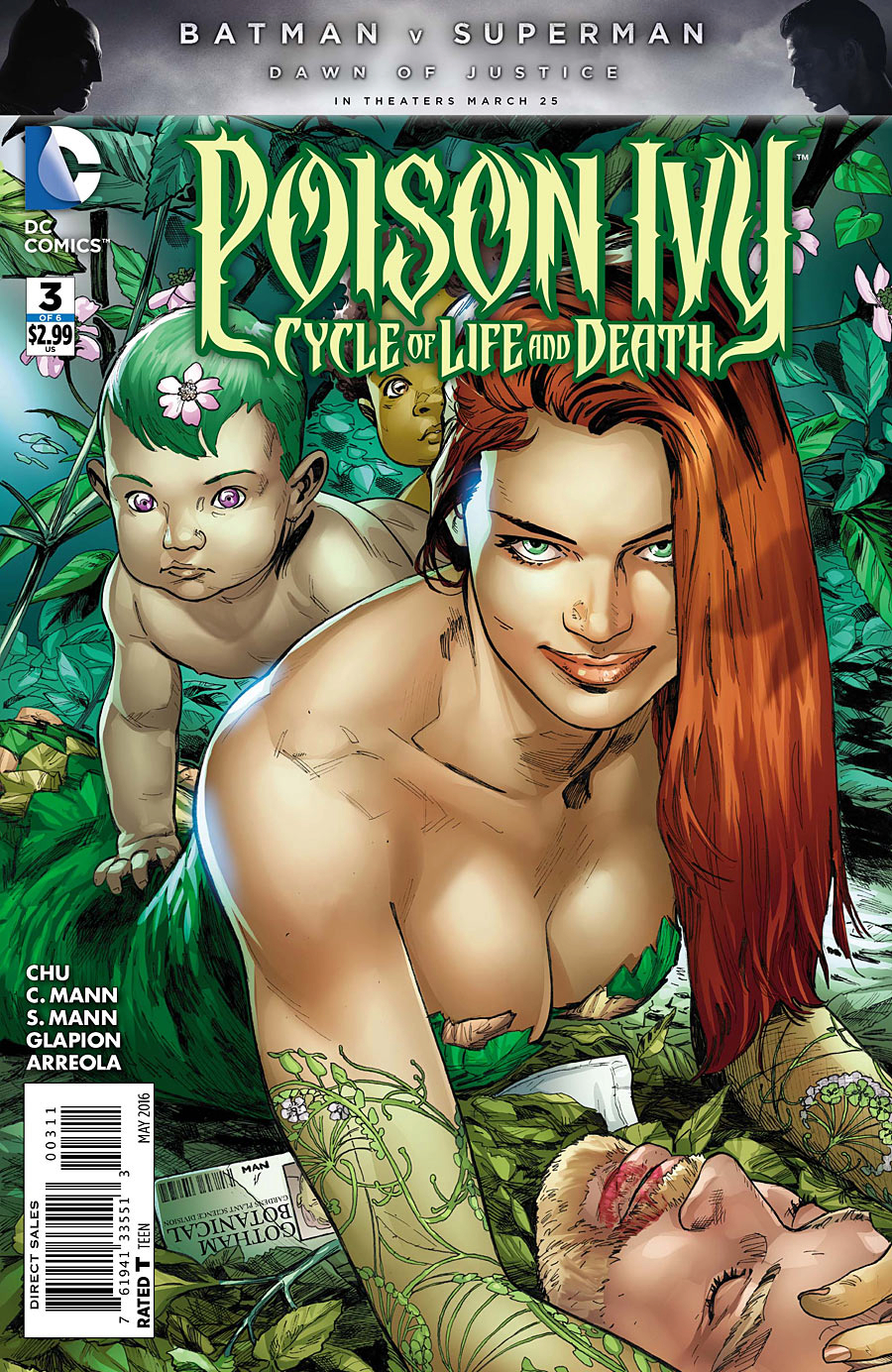 POISON IVY CYCLE OF LIFE AND DEATH #3