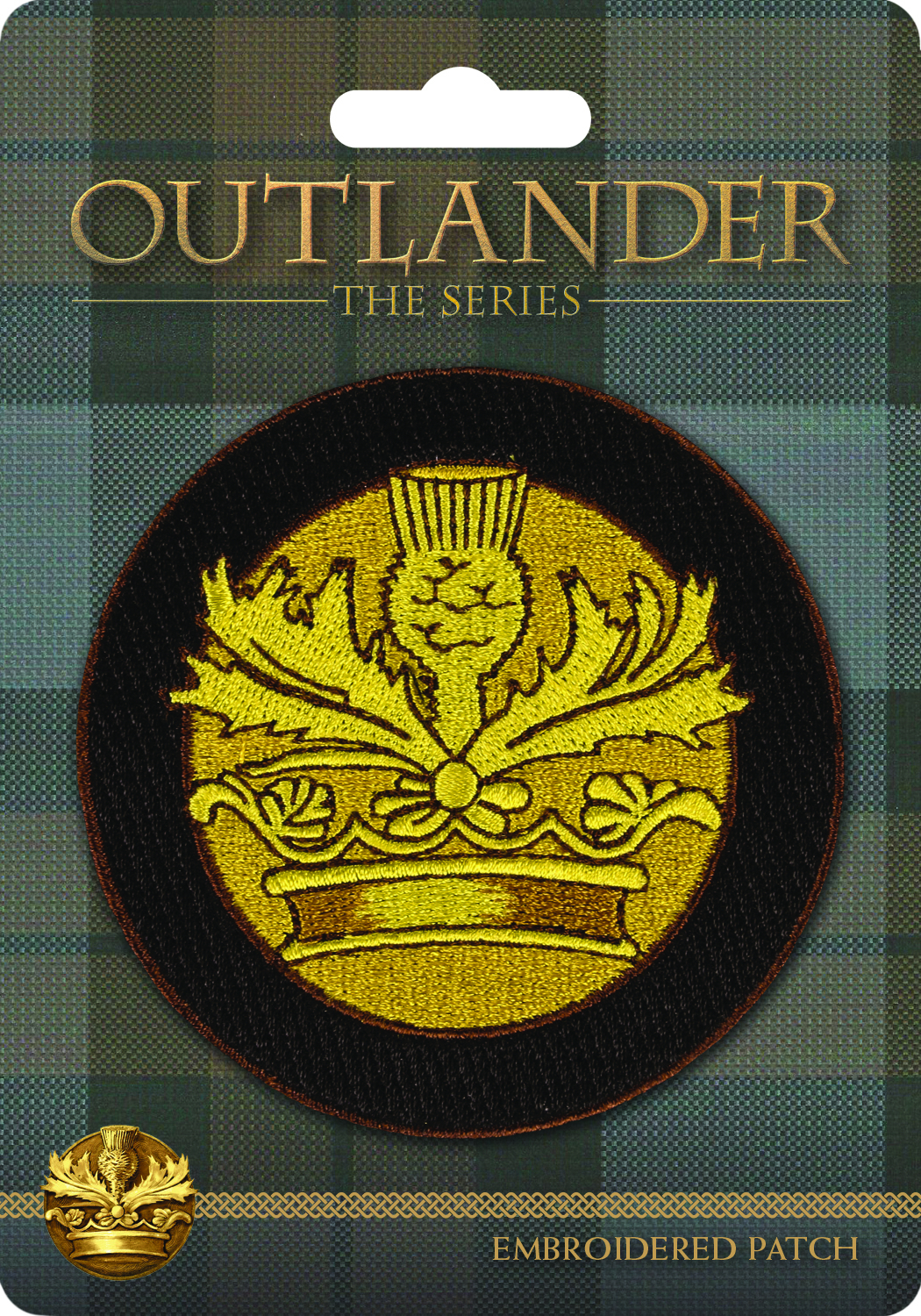 OUTLANDER PATCH CROWN & THISTLE