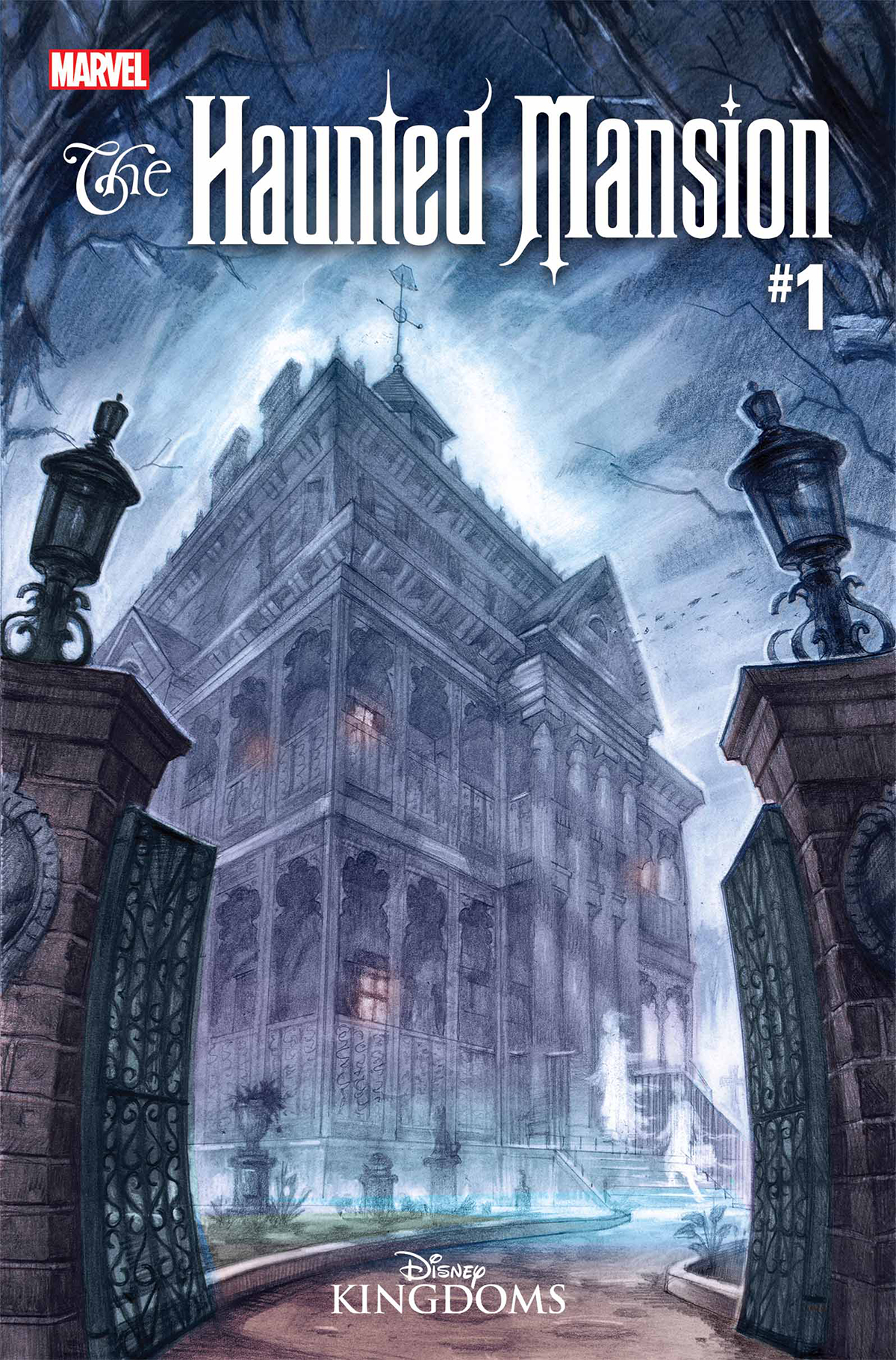 HAUNTED MANSION #1 BY GIST POSTER