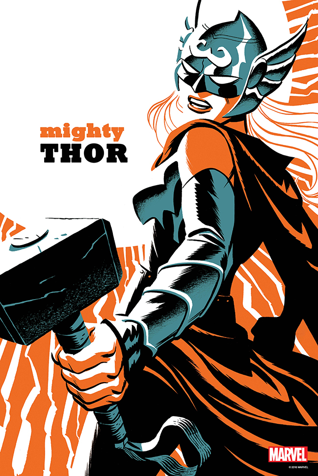 MIGHTY THOR #4 BY CHO POSTER