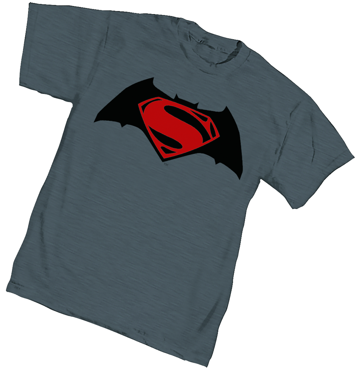 BATMAN V SUPERMAN SYMBOL WOMENS T/S MED