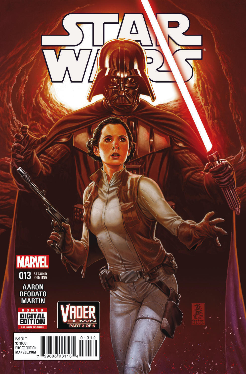 STAR WARS #13 BROOKS 2ND PTG VAR