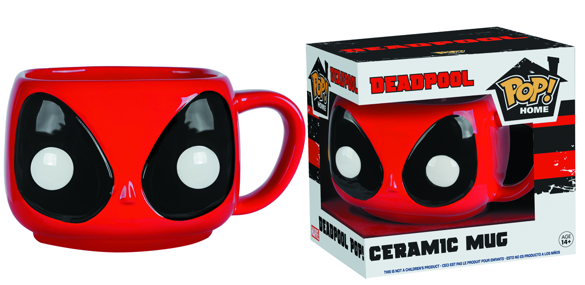 POP HOME MARVEL DEADPOOL HEAD MUG