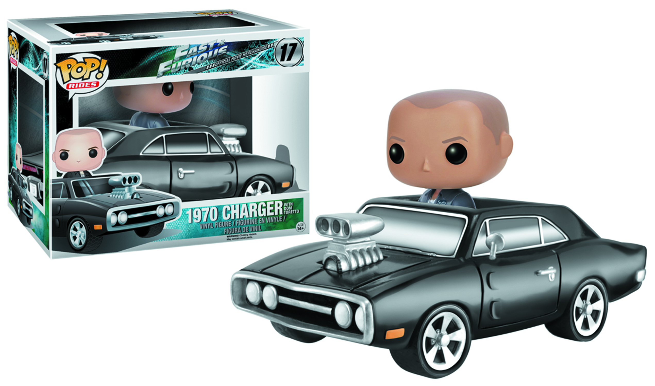 POP RIDES FAST & FURIOUS CHARGER VIN FIG