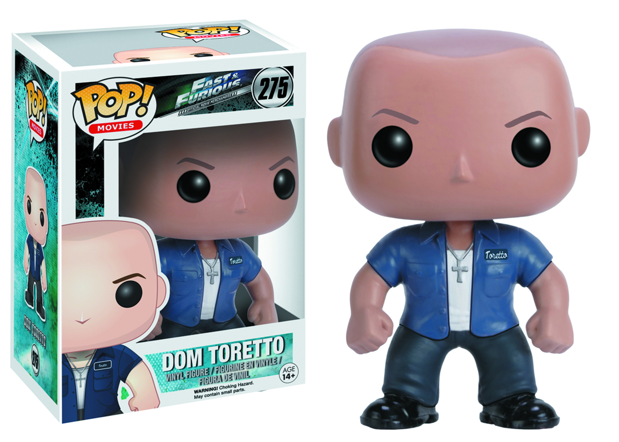 POP FAST & FURIOUS DOM TORETTO VINYL FIG