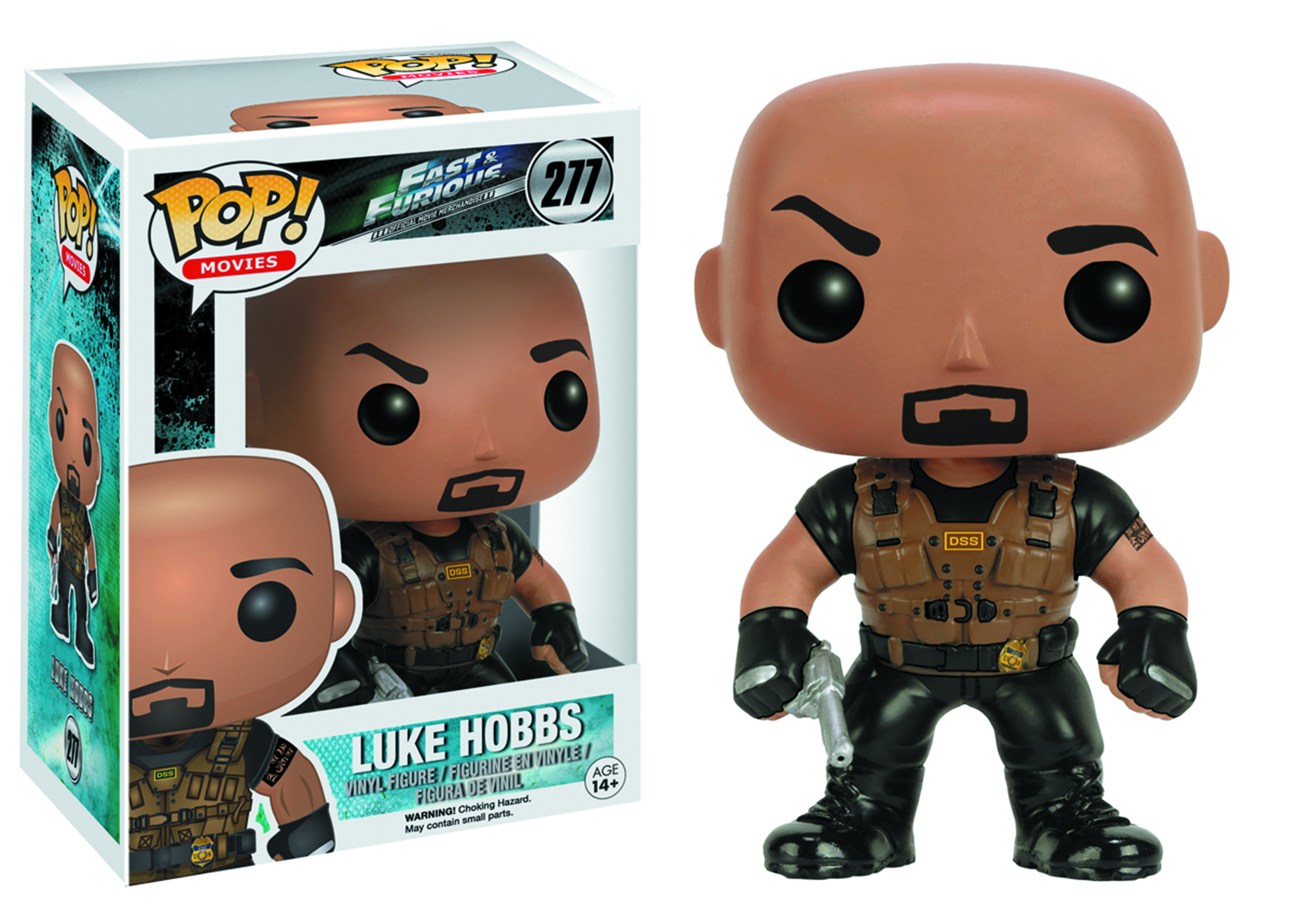 POP FAST & FURIOUS LUKE HOBBS VINYL FIG
