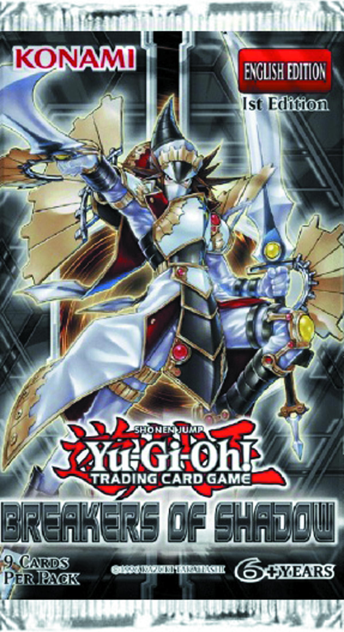 YU GI OH TCG BREAKERS OF SHADOW BOOSTER DIS