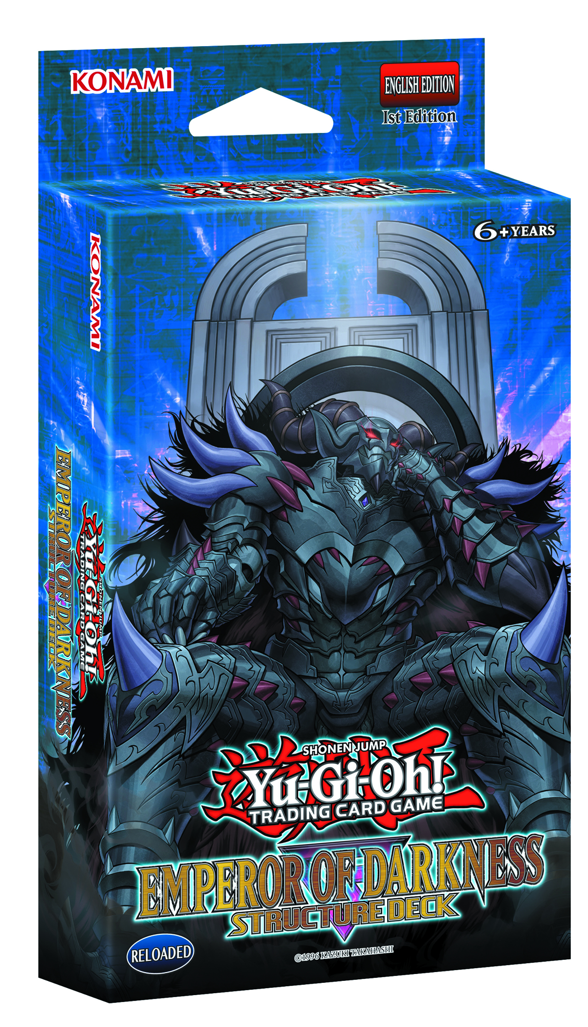 YU GI OH TCG STRUCTURE DECK EMPEROR OF DARKNESS DIS