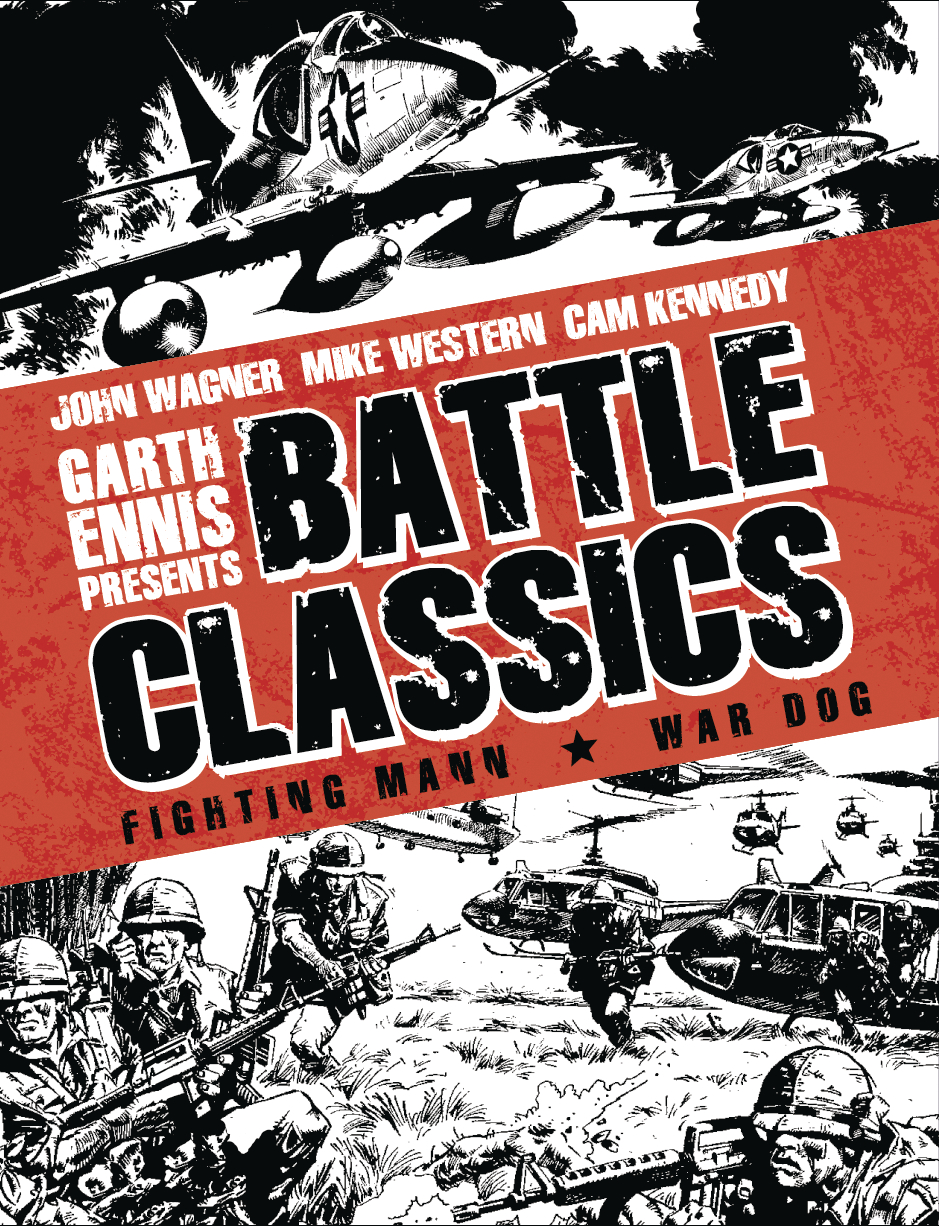 GARTH ENNIS BATTLE CLASSICS HC