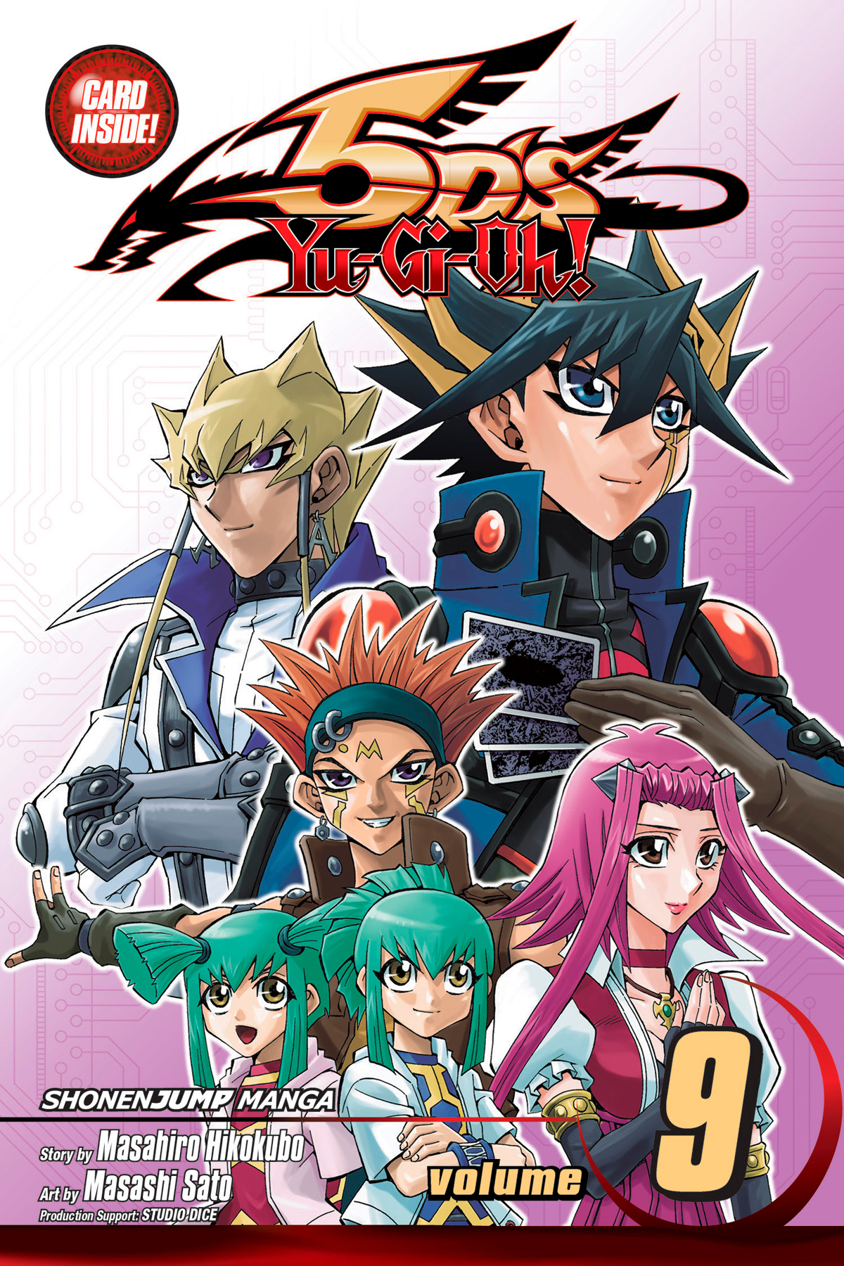 YU GI OH 5DS GN VOL 09