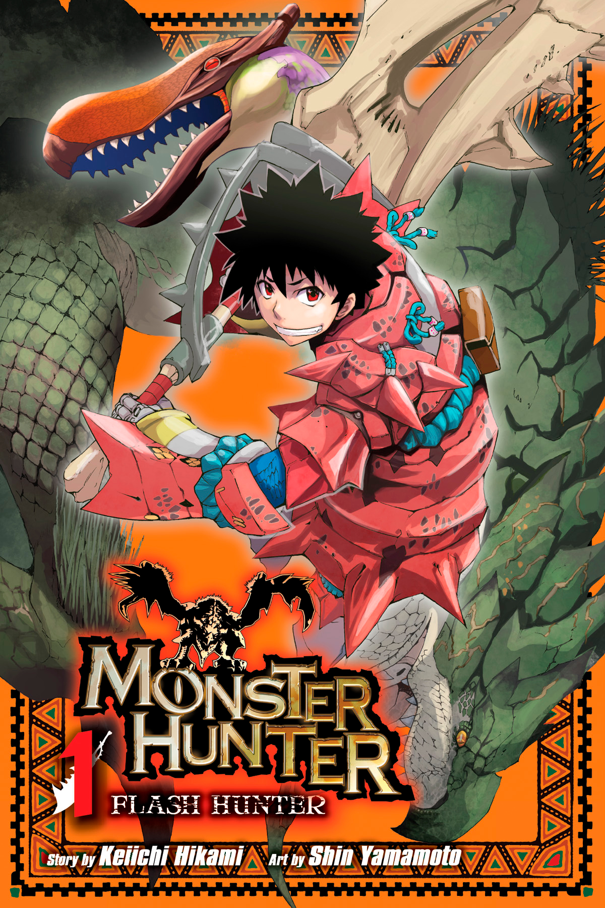 MONSTER HUNTER FLASH HUNTER GN VOL 01