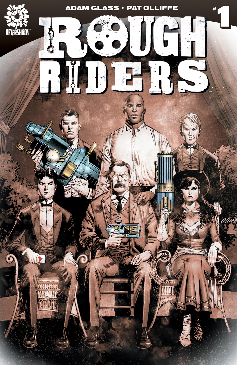 Rough Riders - 1-3 - 2016 - Adam Glass y Pat Olliffe