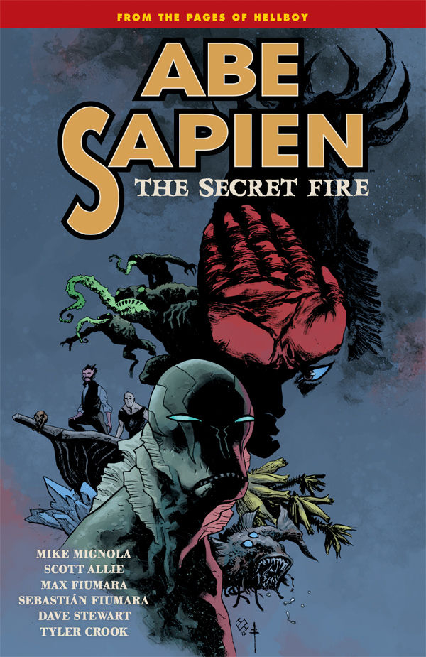 ABE SAPIEN TP VOL 07 SECRET FIRE (FEB160043)