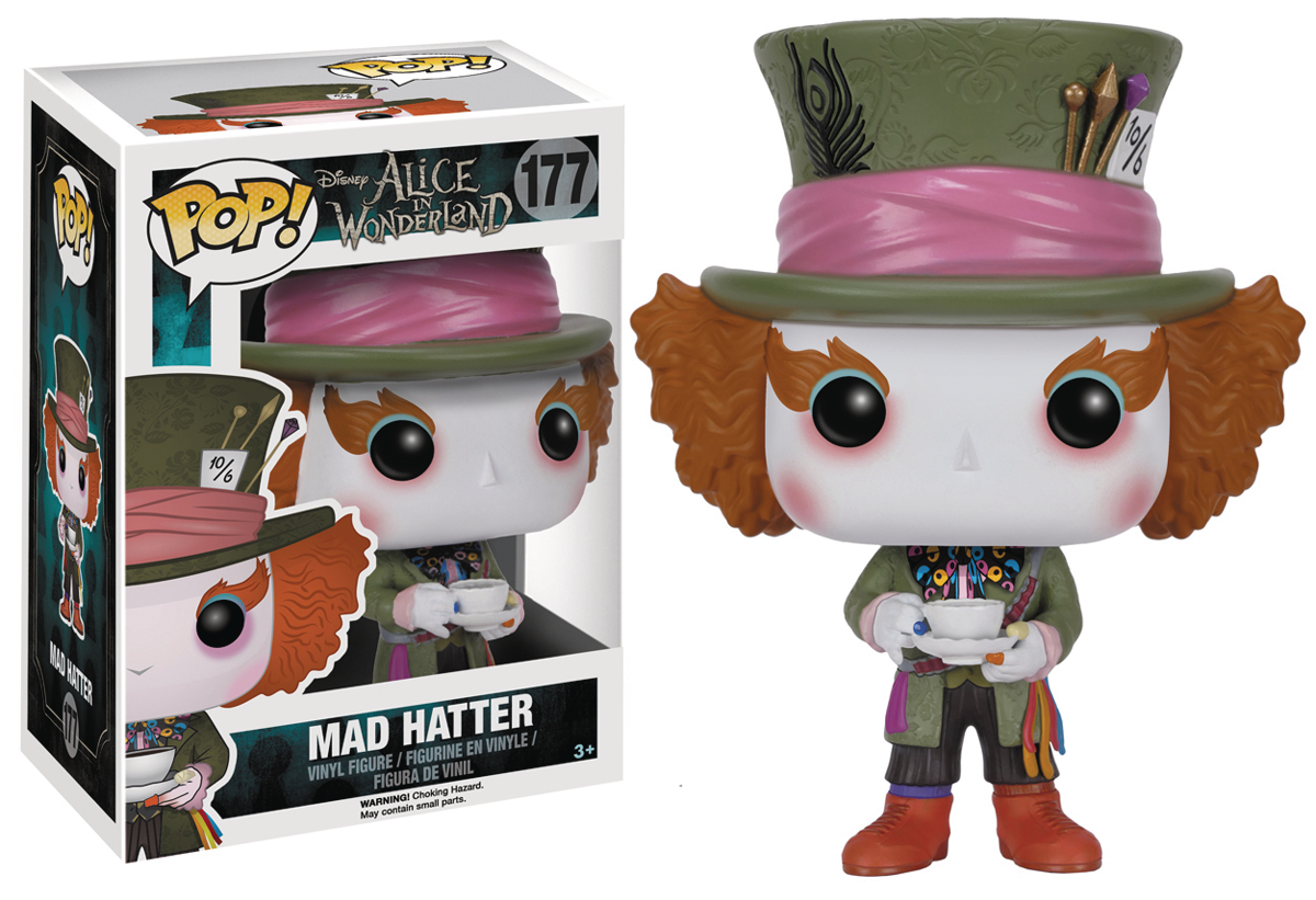 POP ALICE MAD HATTER VINYL FIG