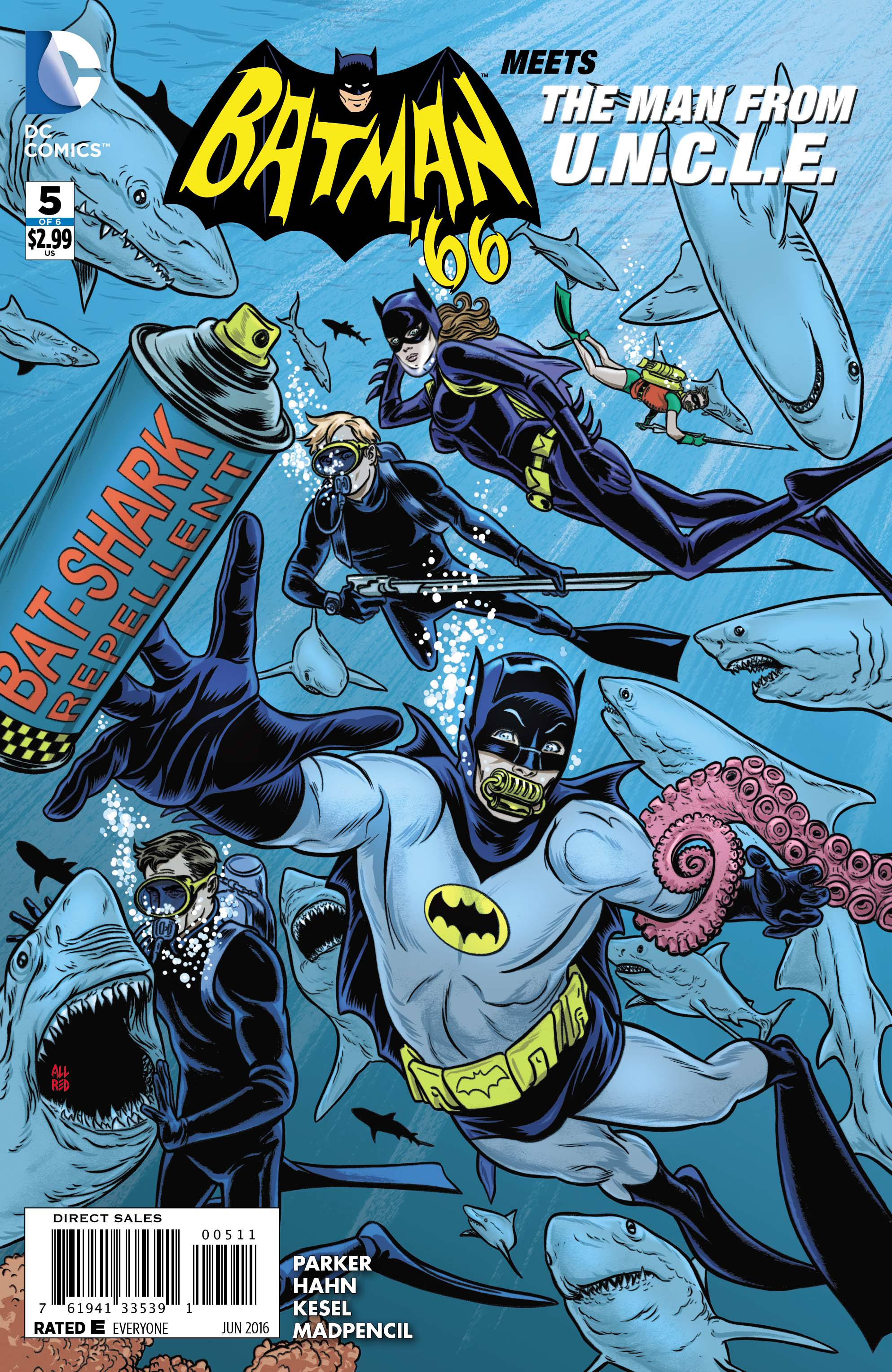 BATMAN 66 MEETS THE MAN FROM UNCLE #5 (OF 6)