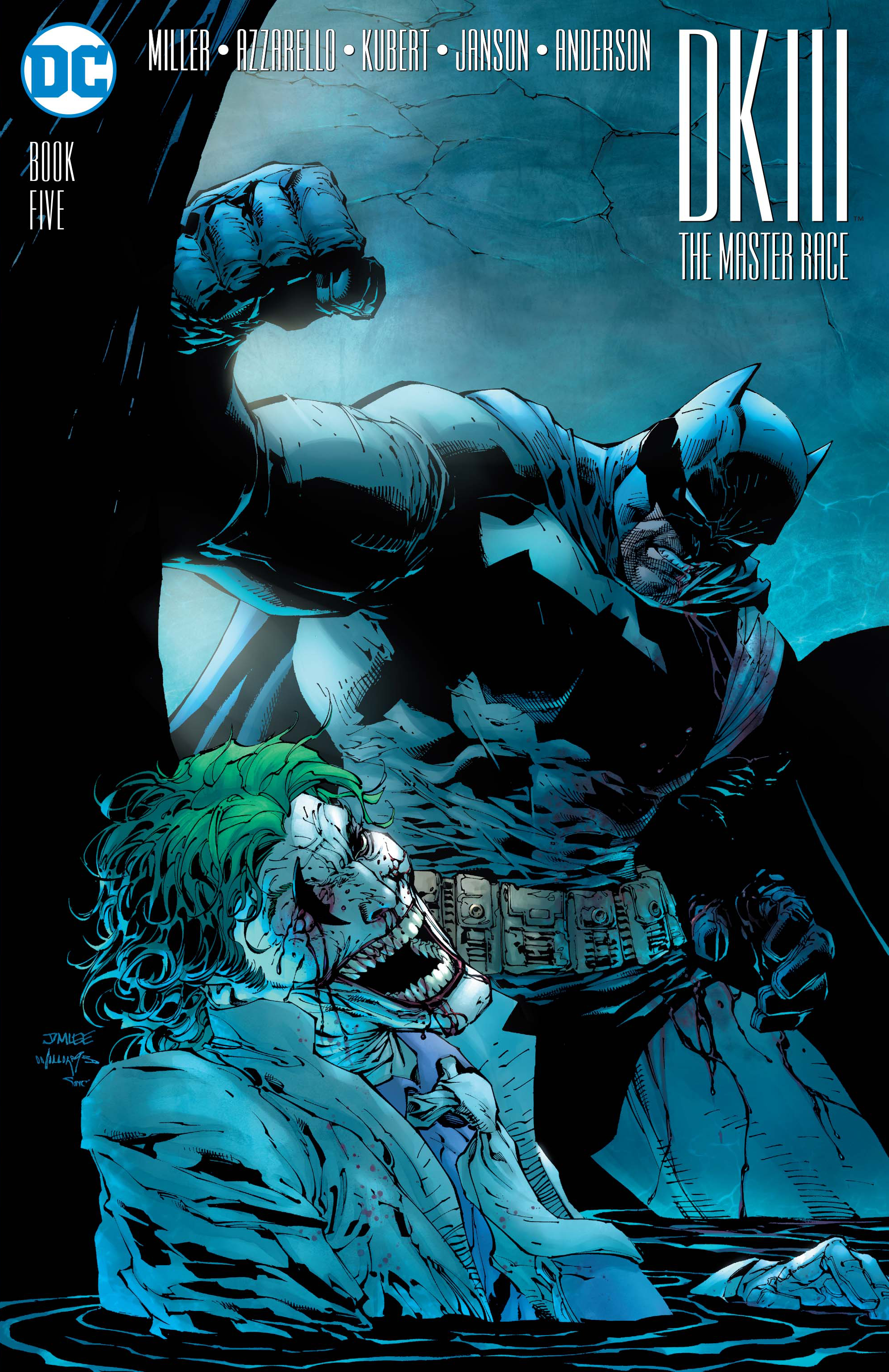 DARK KNIGHT III MASTER RACE #5 (OF 8) LEE VAR ED