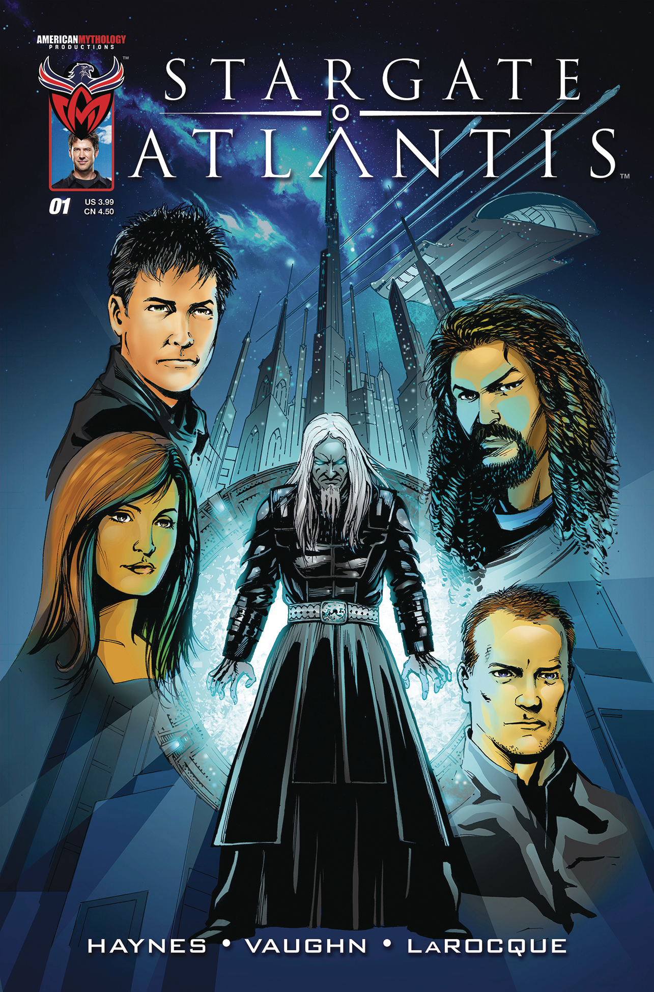 STARGATE ATLANTIS BACK TO PEGASUS #1 MAIN CVR (O/A)