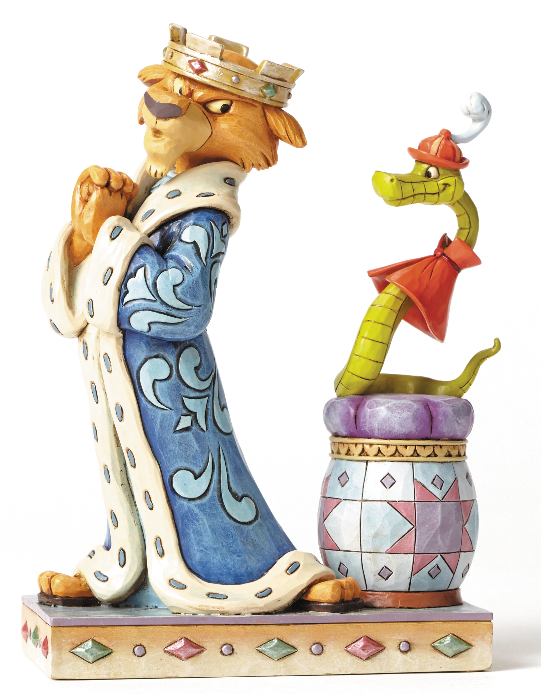 DISNEY TRADITIONS PRINCE JOHN & SIR HISS FIG
