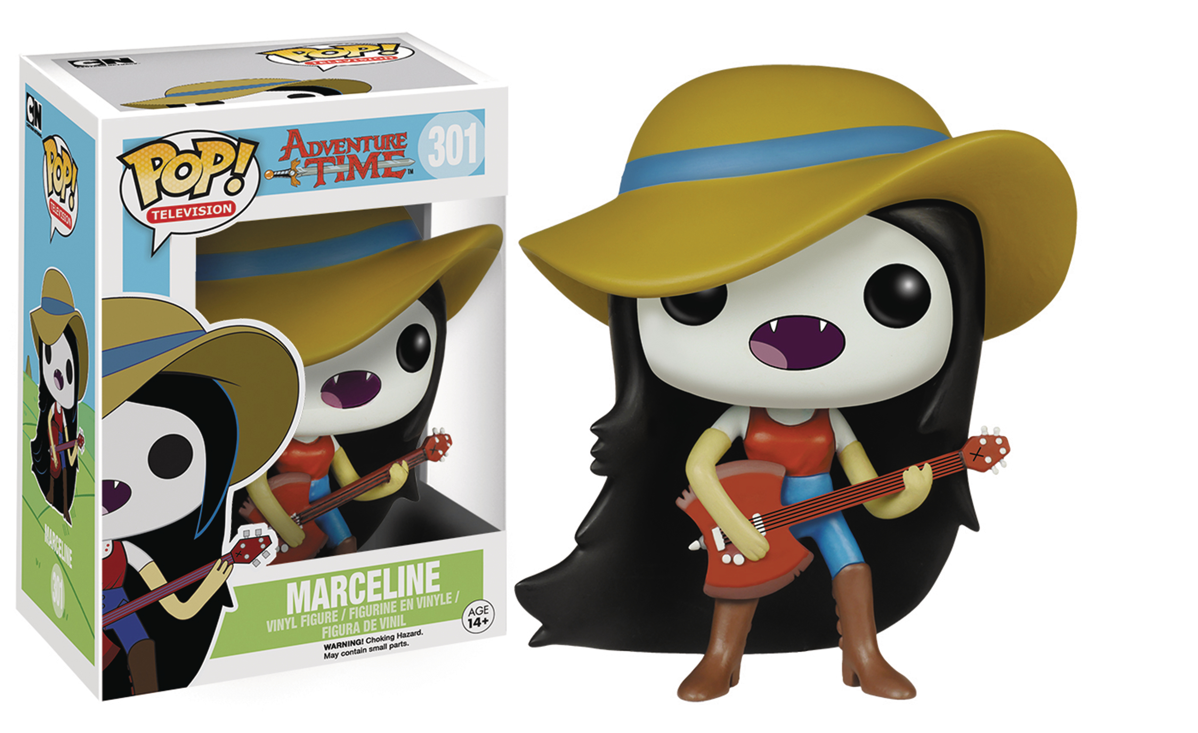 POP ADVENTURE TIME MARCELINE GUITAR VINYL FIG