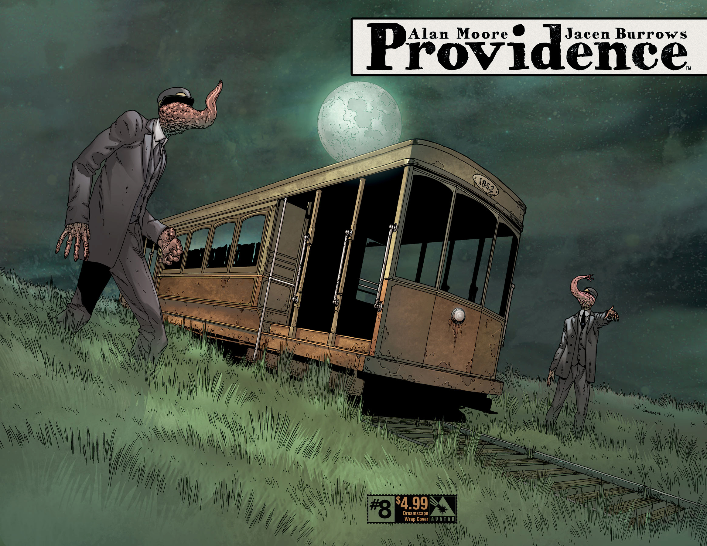 PROVIDENCE #8 (OF 12) DREAMSCAPE WRAP CVR (MR)