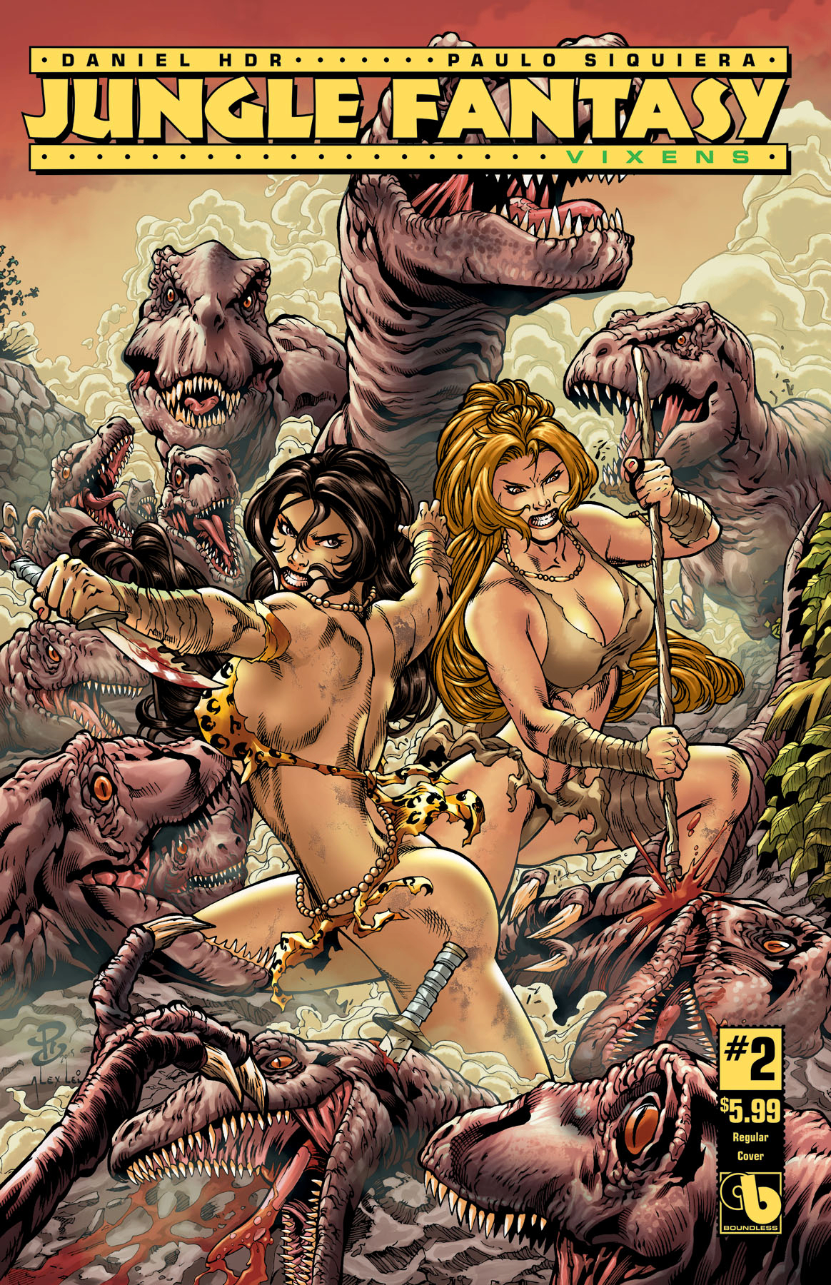 JUNGLE FANTASY VIXENS #2 (OF 2)
