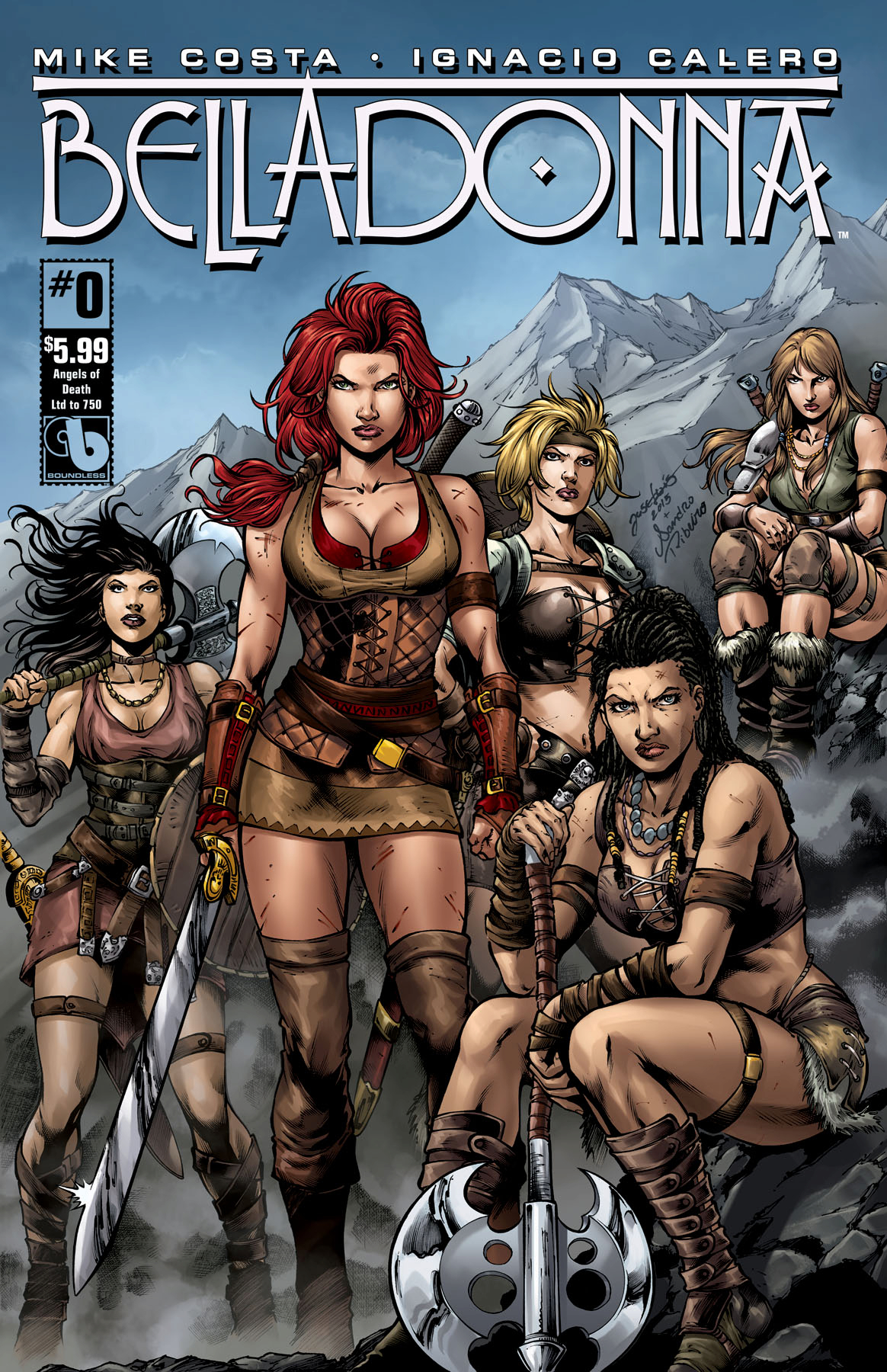 Belladonna comic wallpaper nude
