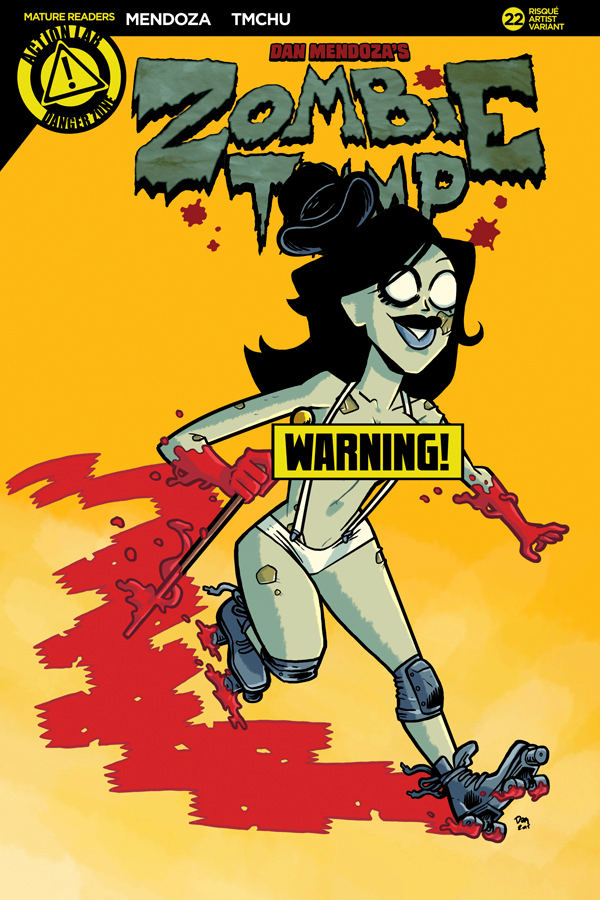 ZOMBIE TRAMP ONGOING #22 CVR F MASSA RISQUE (MR)