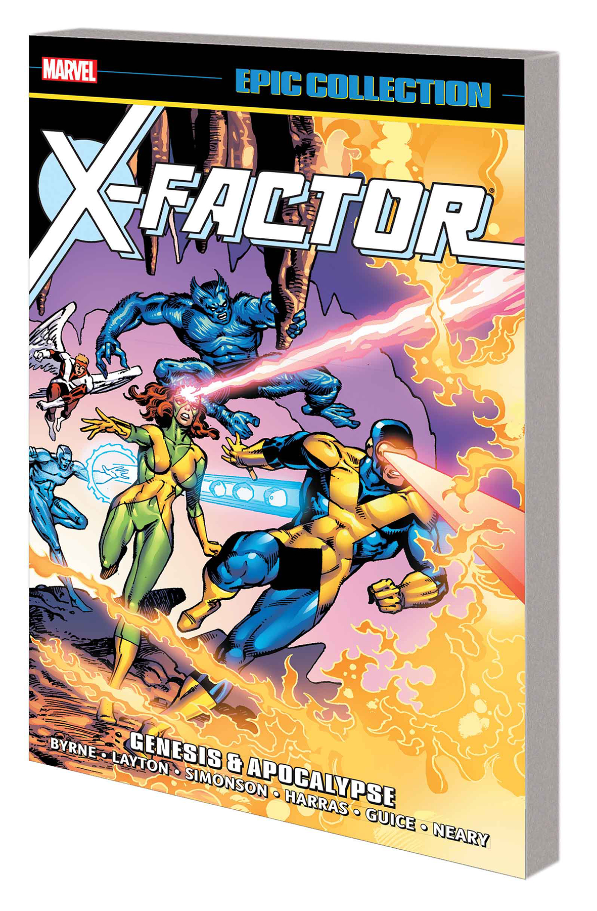 X-FACTOR EPIC COLLECTION TP GENESIS AND APOCALYPSE (1986 #1-9+)
