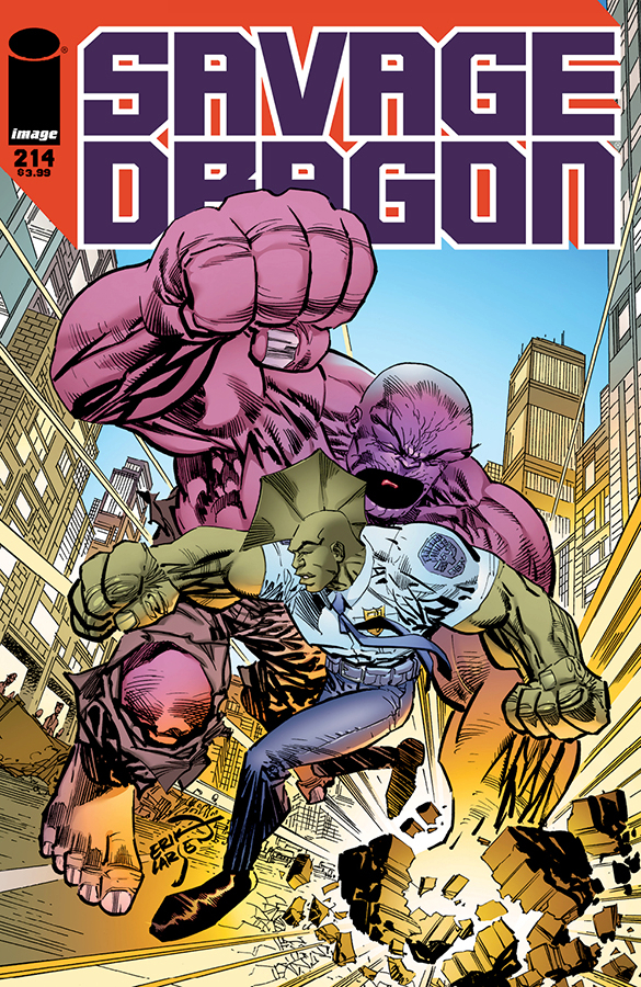 SAVAGE DRAGON #214 (MR)