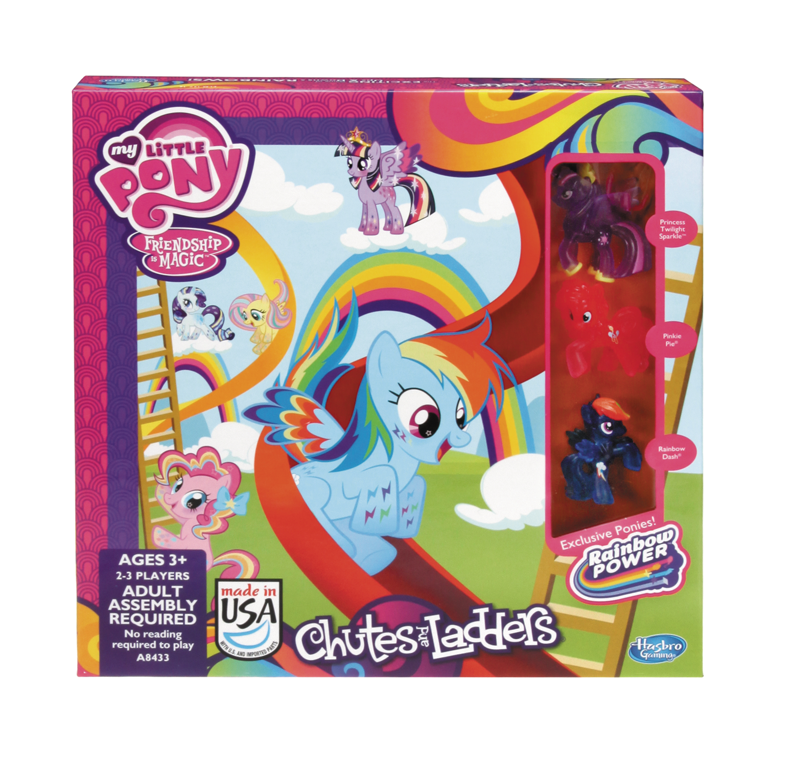 CHUTES & LADDERS MY LITTLE PONY EDITION CS