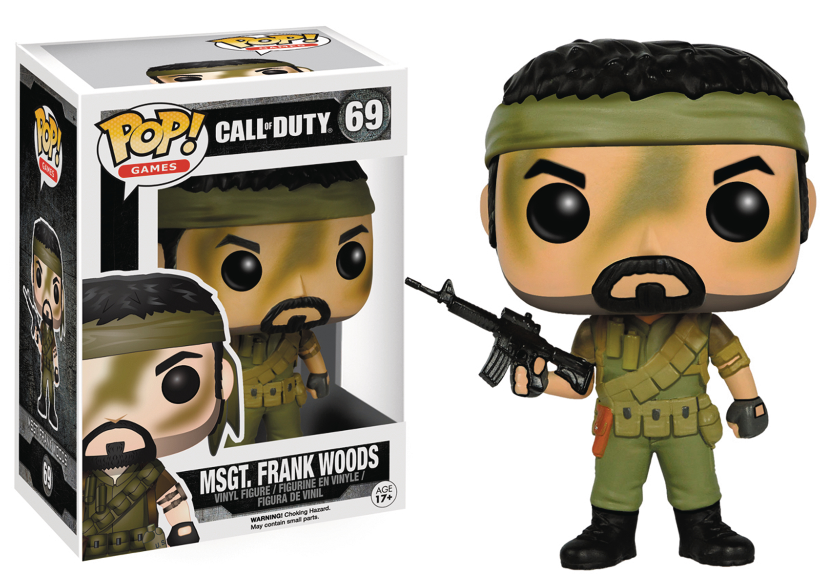POP CALL OF DUTY WOODS VINYL FIG