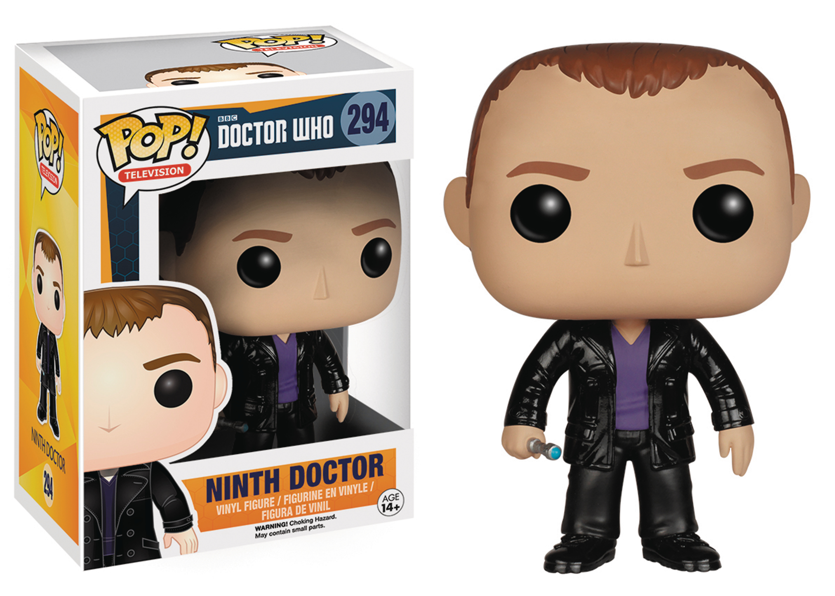 POP DOCTOR WHO 9TH DOCTOR VINYL FIG