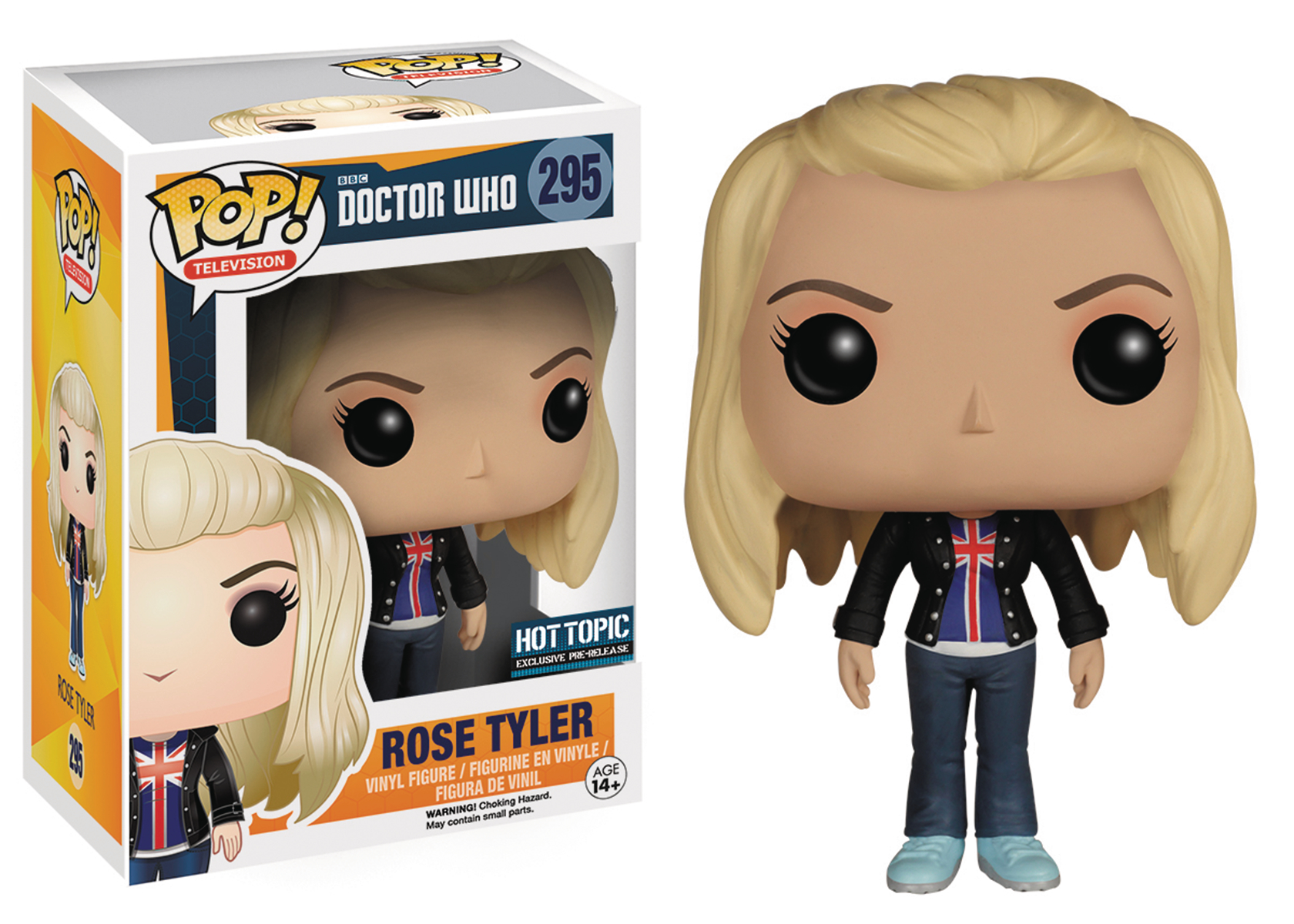 POP DOCTOR WHO BAD WOLF ROSE TYLER VINYL FIG