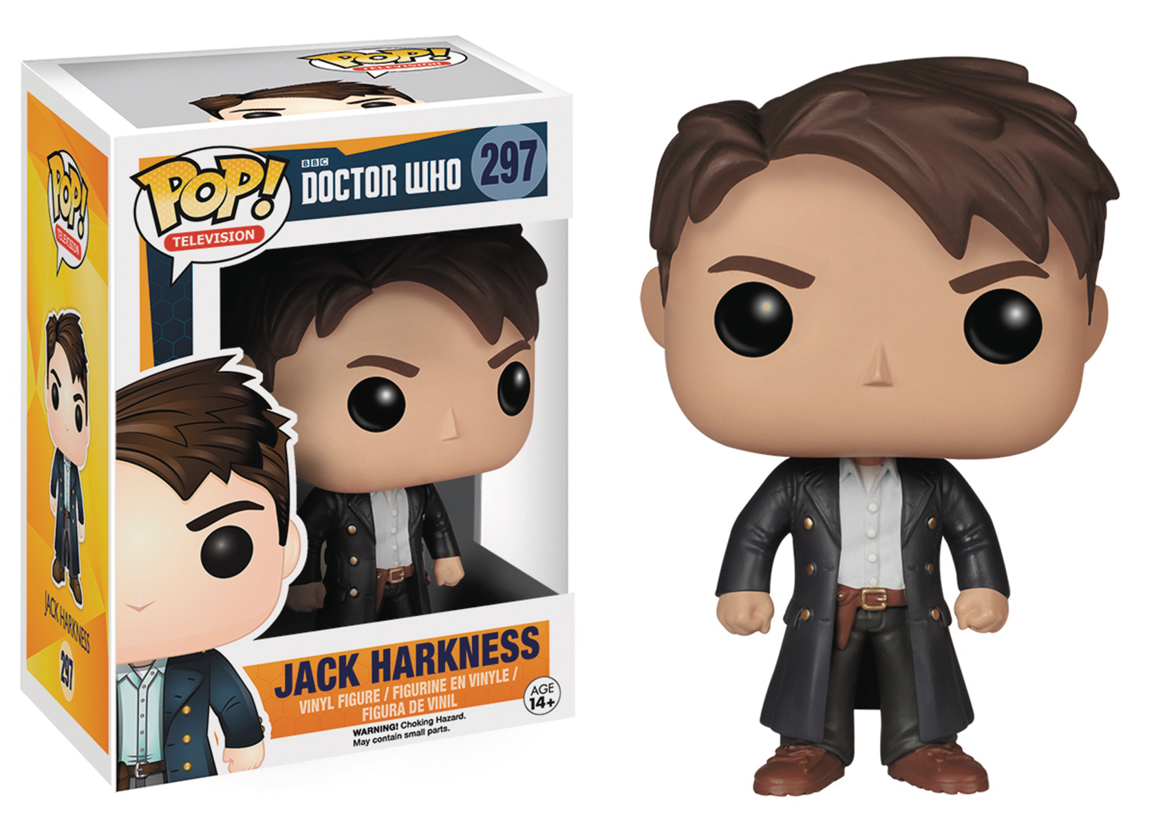 POP DOCTOR WHO JACK HARKNESS VINYL FIG