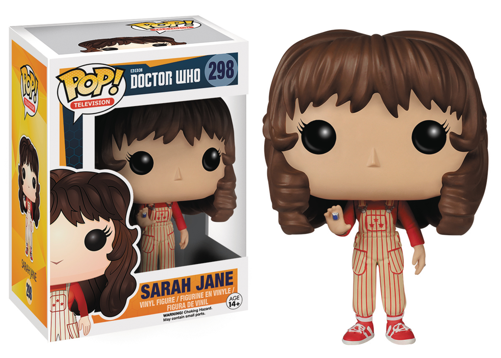 POP DOCTOR WHO SARAH JANE SMITH VINYL FIG
