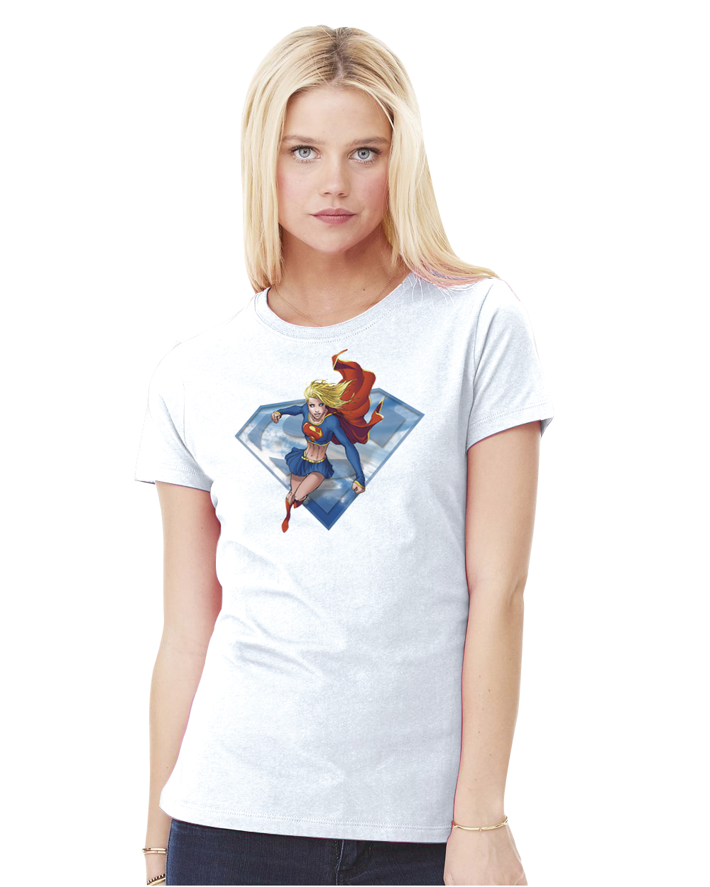 SUPERGIRL BY TURNER WOMENS T/S XL
