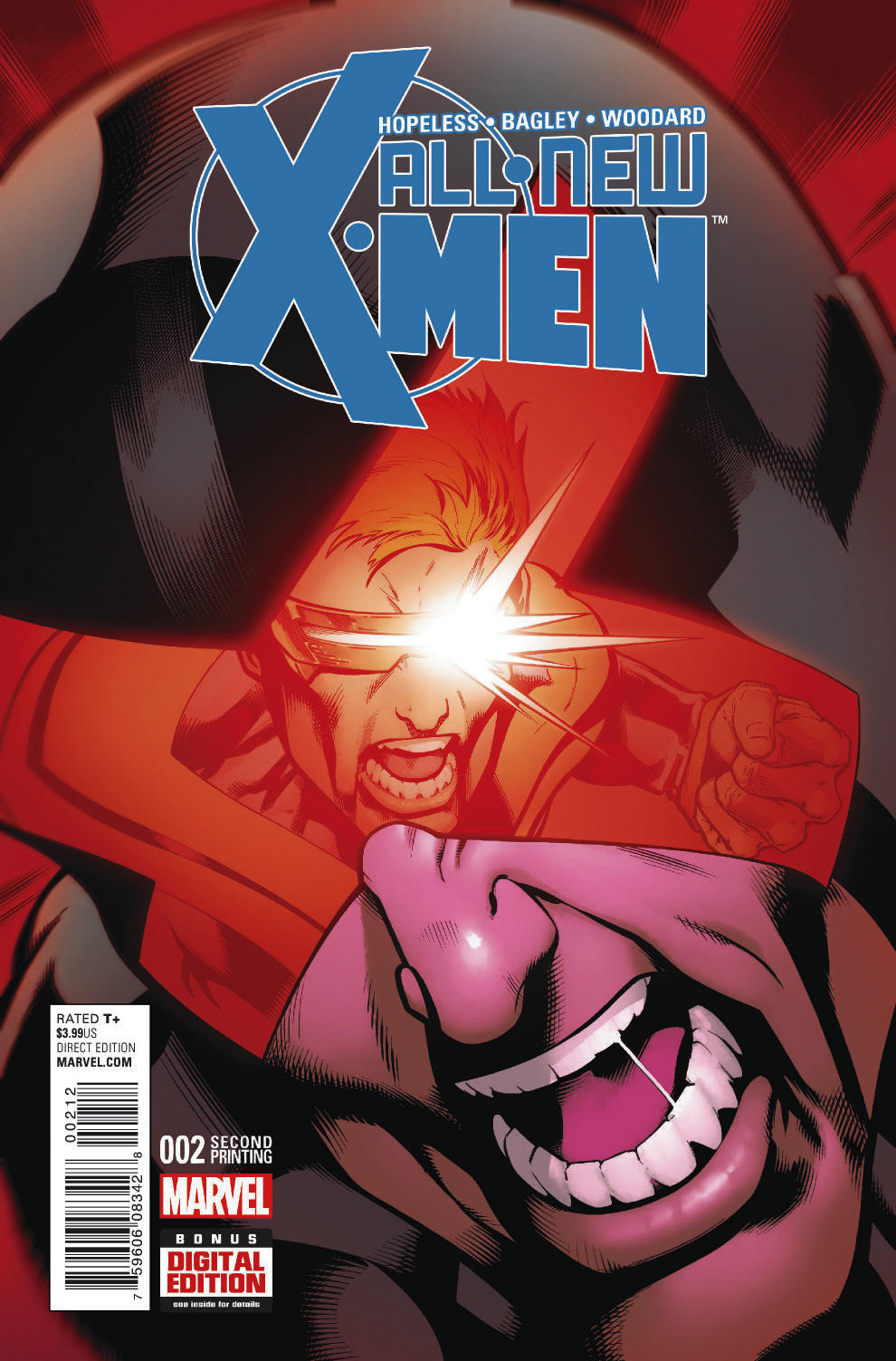 ALL NEW X-MEN #2 BAGLEY 2ND PTG VAR