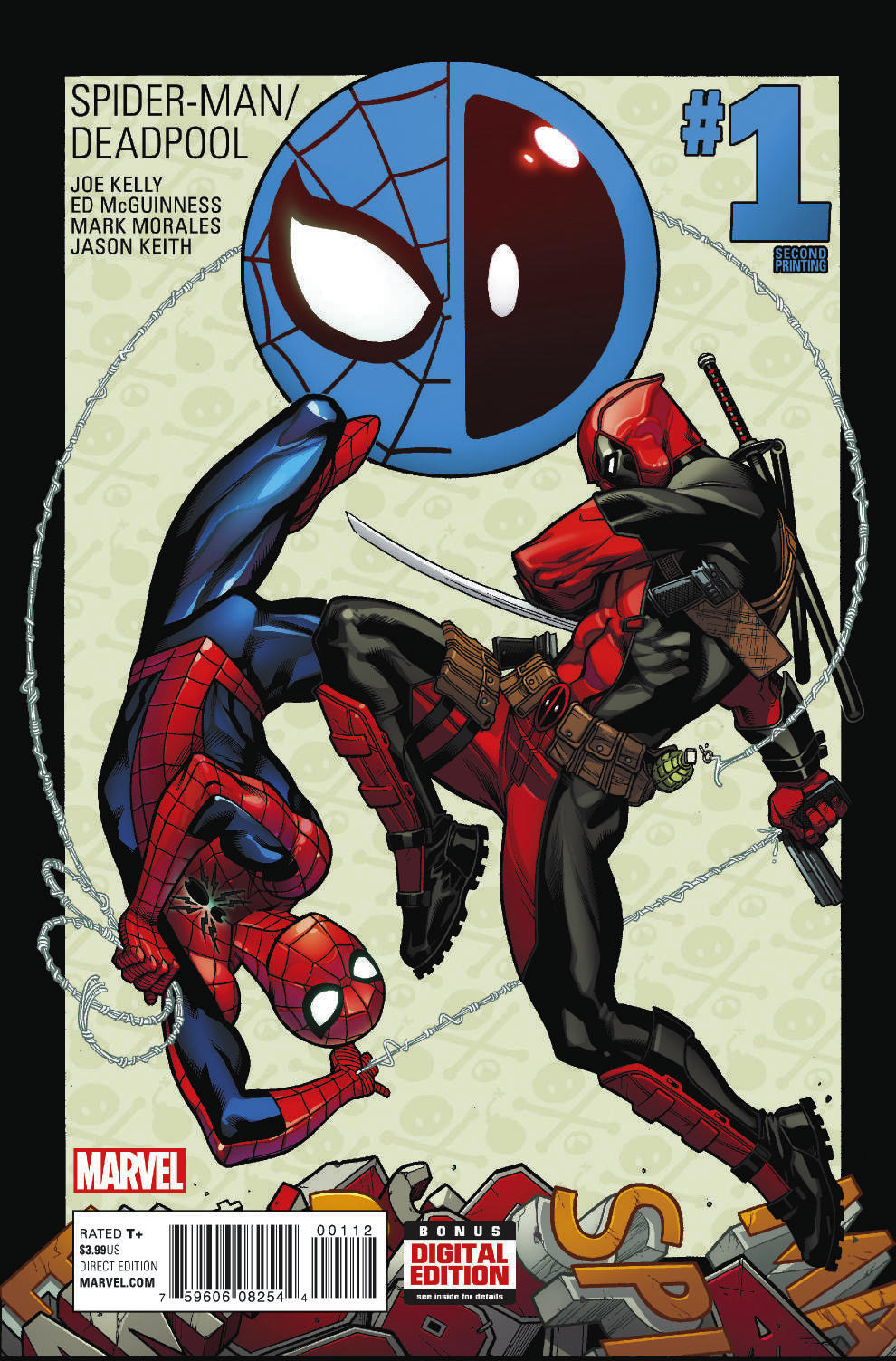 SPIDER-MAN DEADPOOL #1 MCGUINNESS 2ND PTG VAR