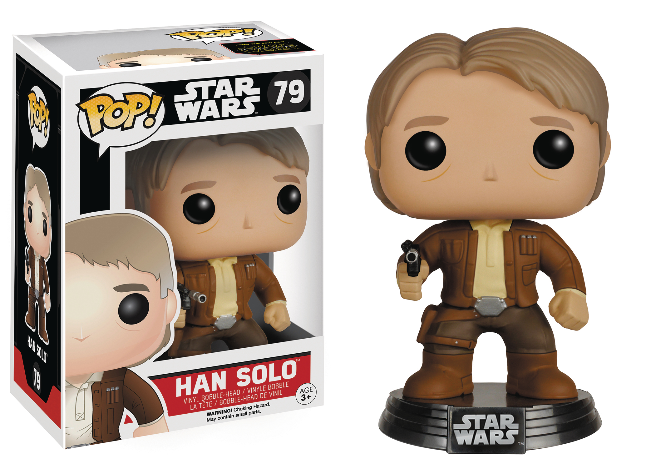 POP STAR WARS E7 HAN SOLO VINYL FIG