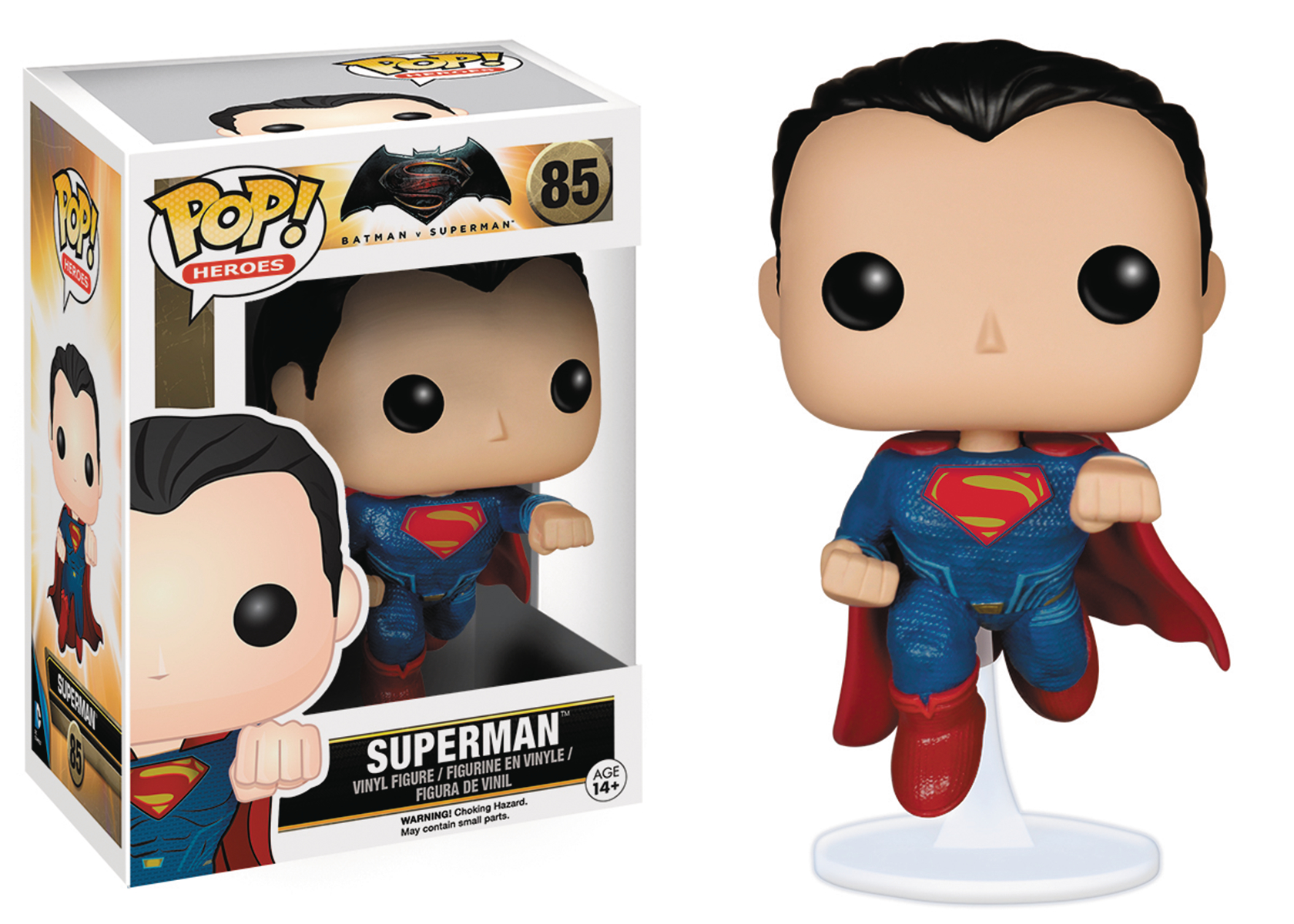 POP BVS SUPERMAN VINYL FIG