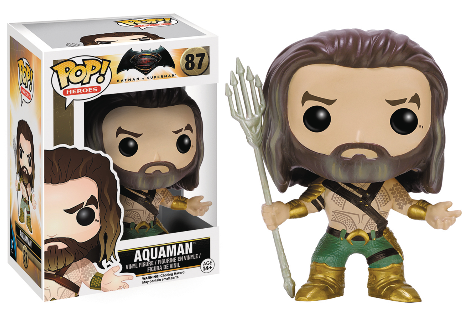 POP BVS AQUAMAN VINYL FIG