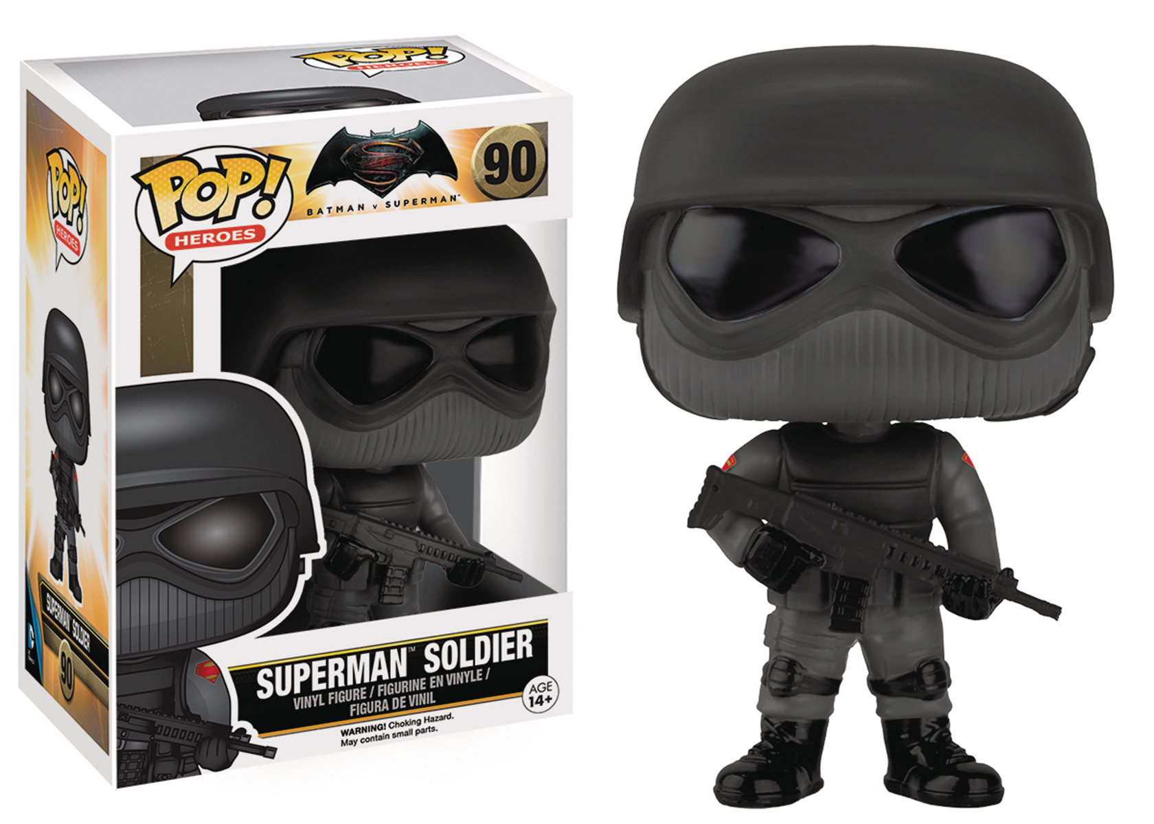 POP BVS SUPERMAN SOLDIER VINYL FIG