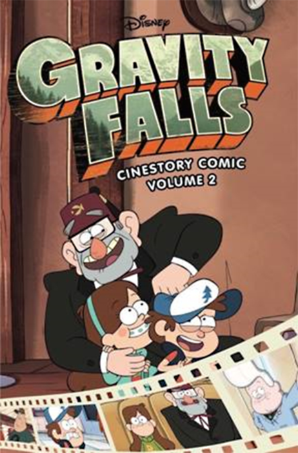 DISNEY GRAVITY FALLS CINESTORY TP VOL 02