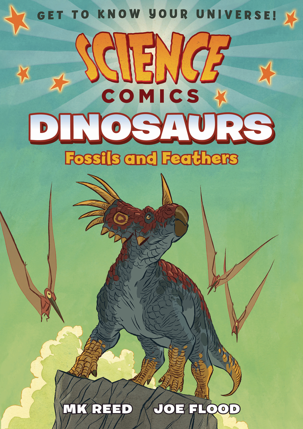 SCIENCE COMICS DINOSAURS FOSSILS & FEATHERS SC GN