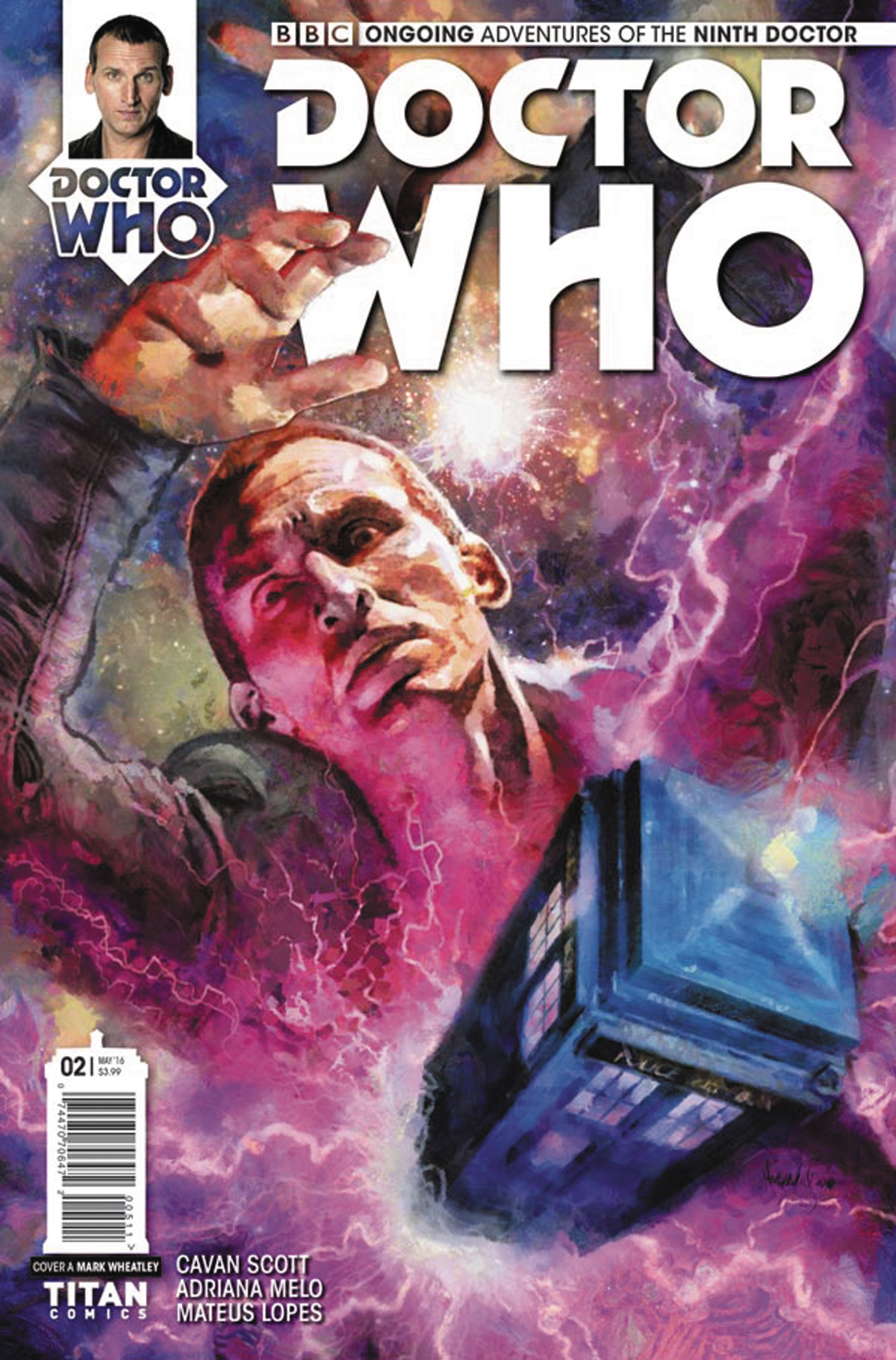 DOCTOR WHO 9TH #2 CVR A WHEATLEY