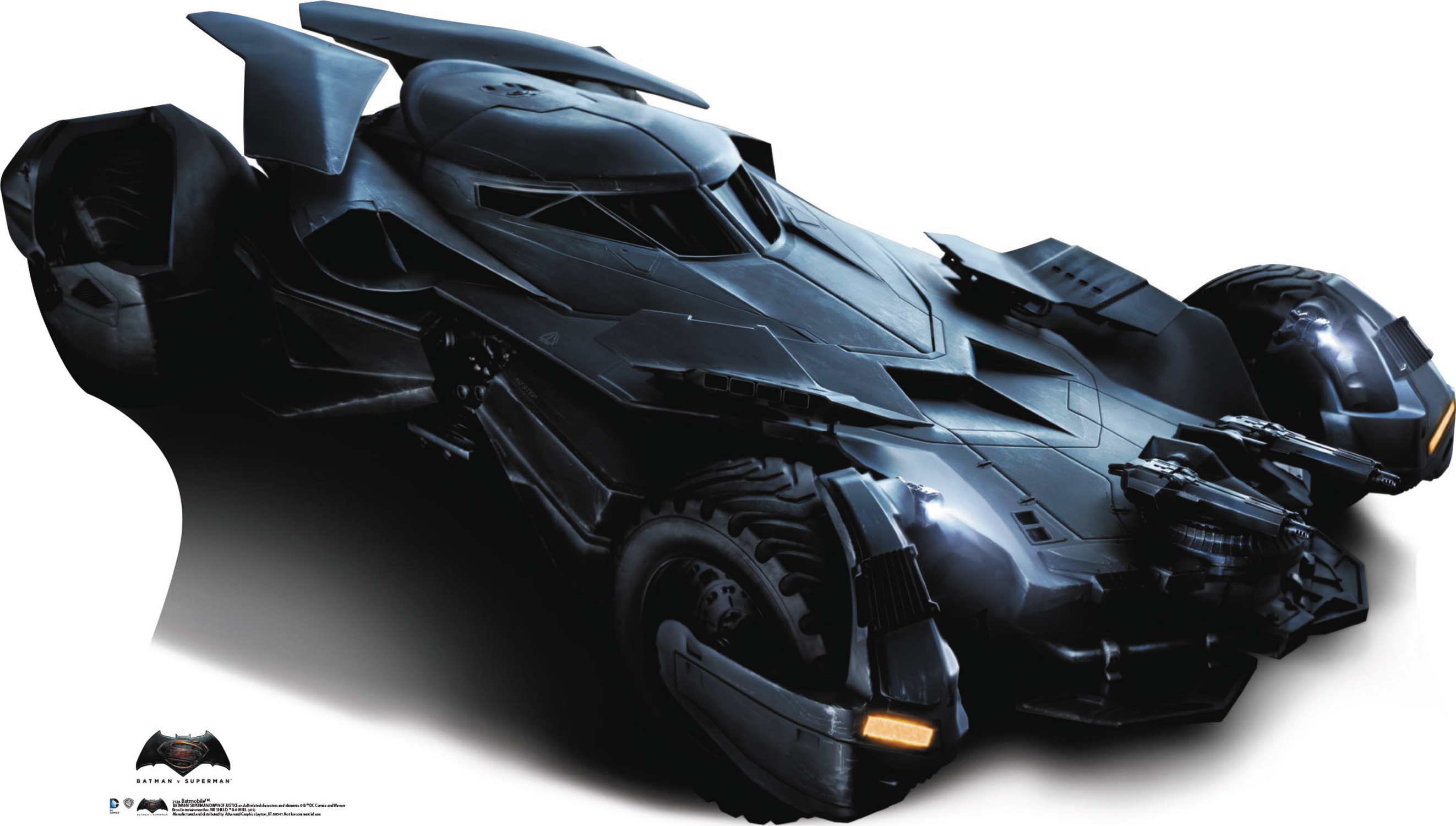 DEC158268 - BATMAN VS SUPERMAN BATMOBILE STANDUP ...