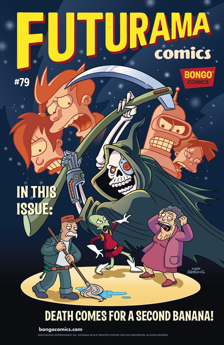 Mar161167 Futurama Comics 79 Previews World