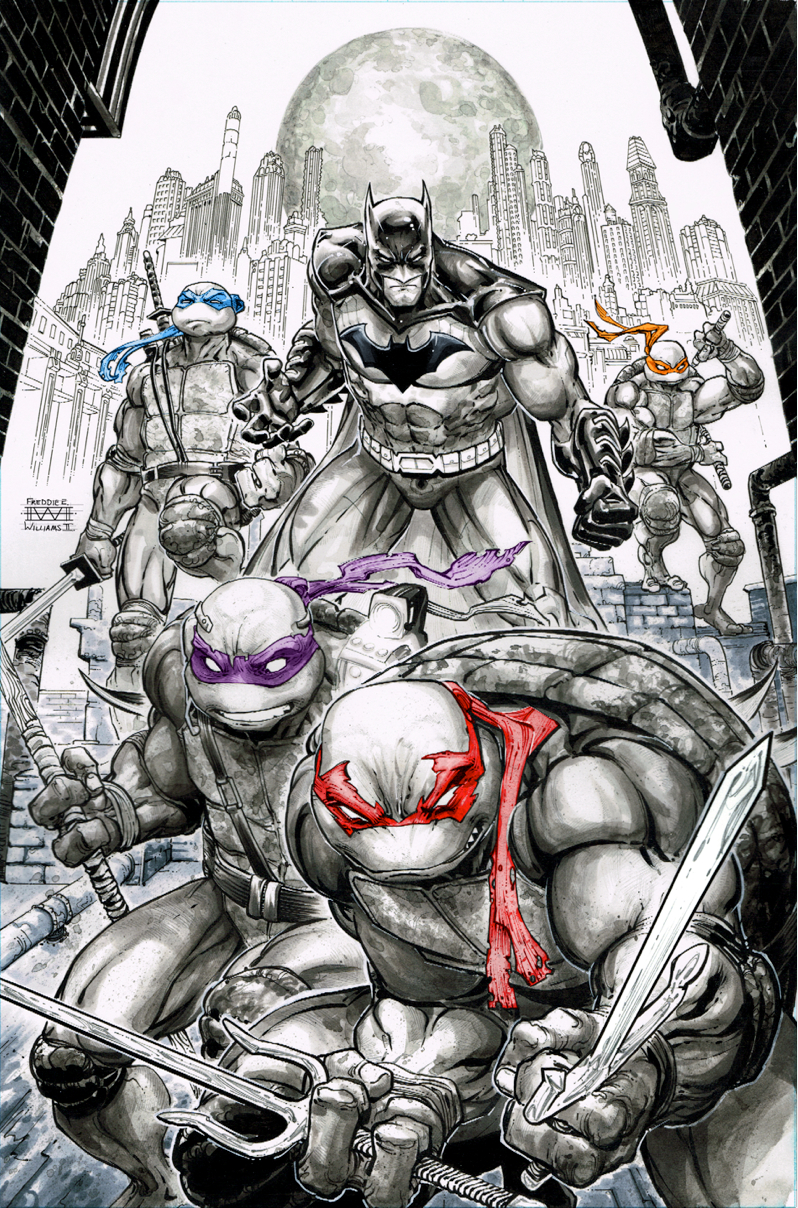 BATMAN TEENAGE MUTANT NINJA TURTLES #1